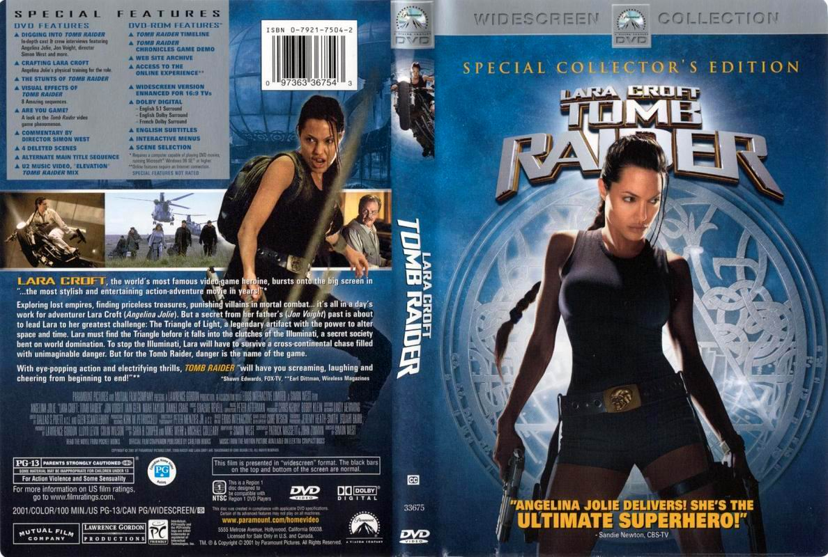 Covers Box Sk Lara Croft Tomb Raider 2001 High Quality