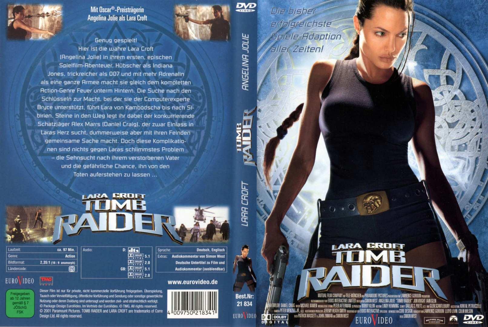 Covers Box Sk Lara Croft Tomb Raider 2001 High