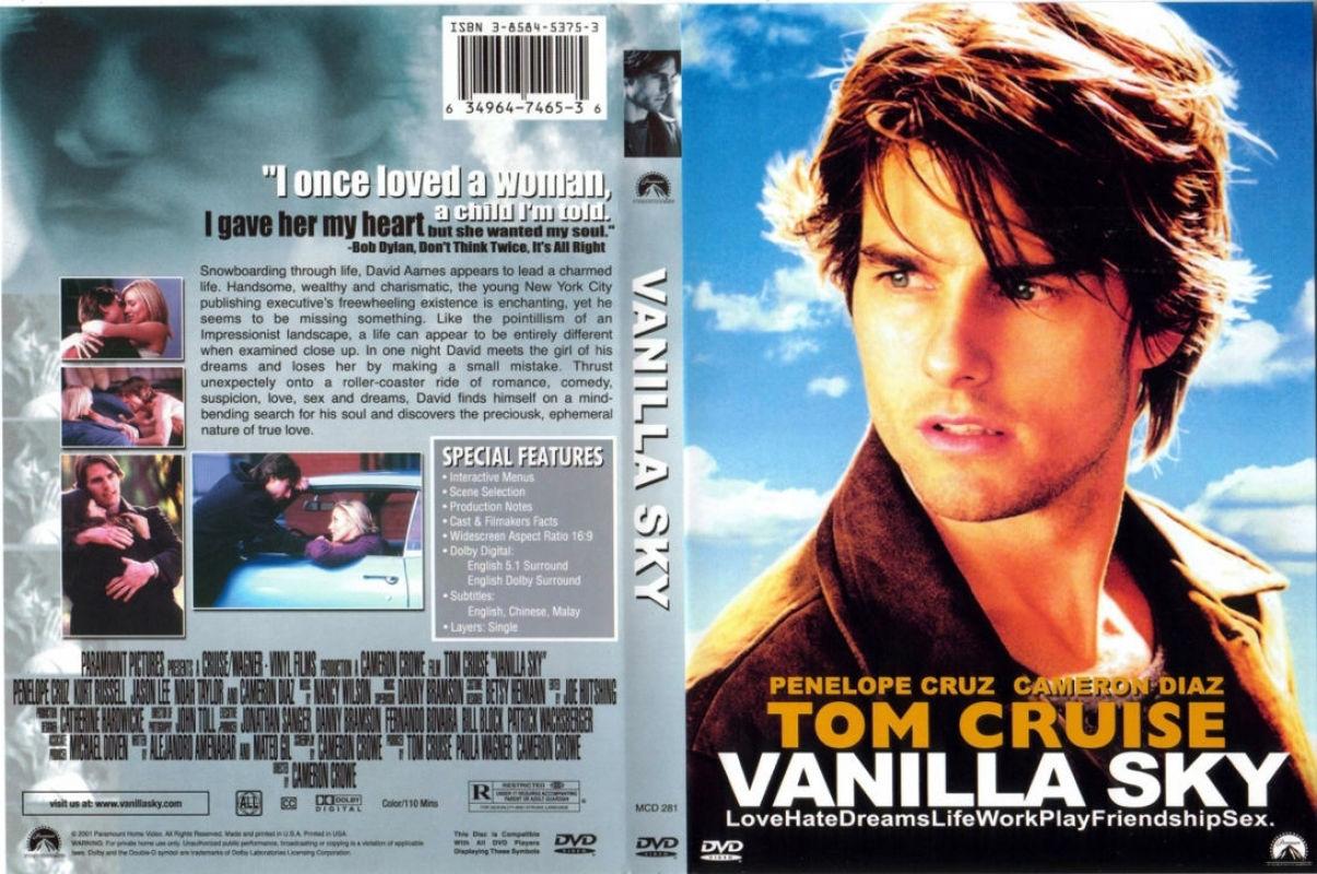 Covers Box Sk Vanilla Sky 2001 High Quality Dvd Blueray Movie