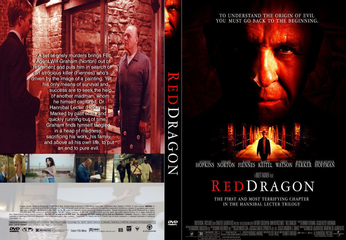 Covers Box Sk Red Dragon 2002 High Quality Dvd Blueray Movie