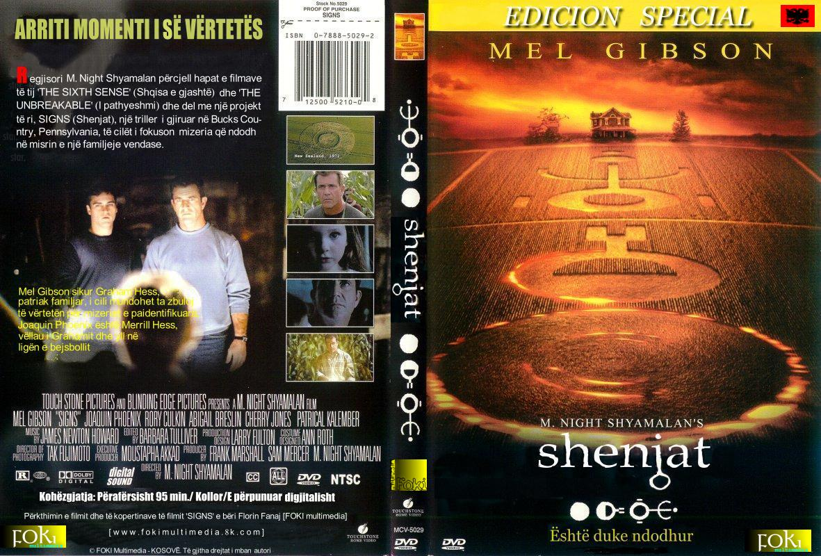 Covers Box Sk Signs 2002 High Quality Dvd Blueray Movie
