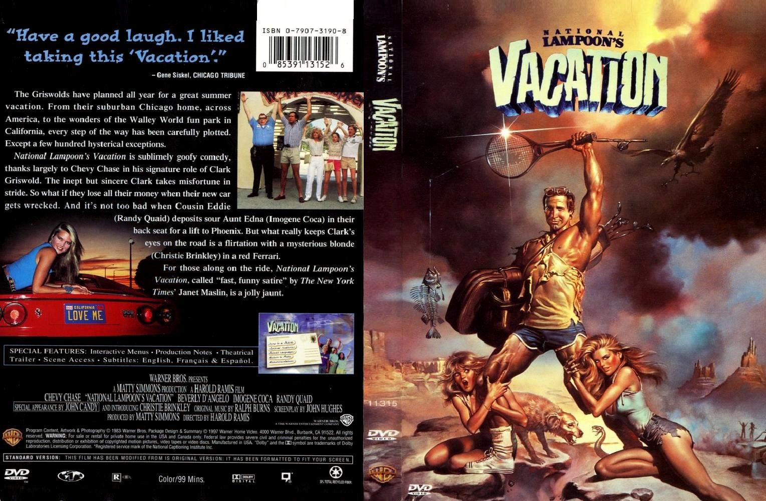 Covers Box Sk National Lampoons Vacation High Quality Dvd Blueray Movie