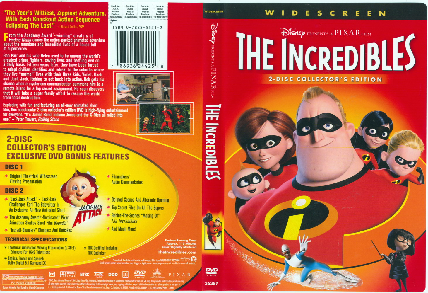 The incredibles front