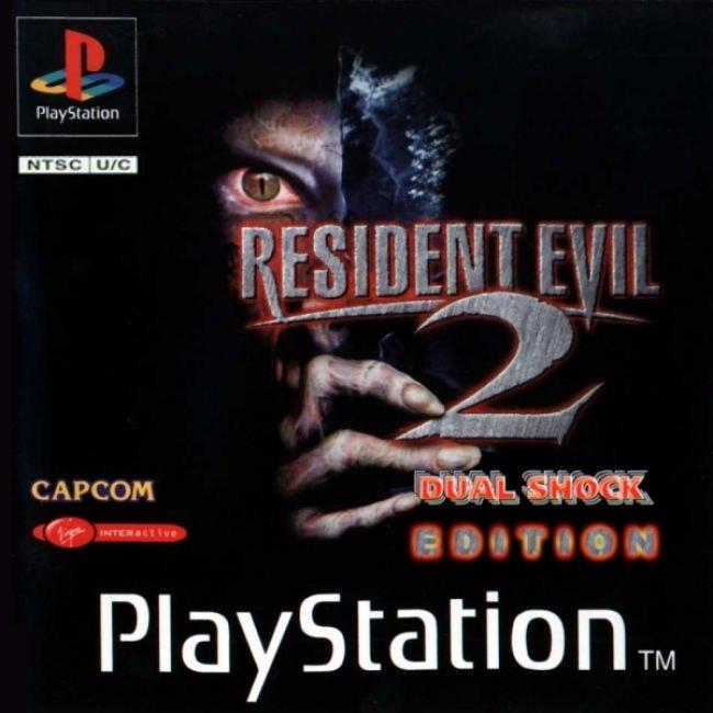 COVERS BOX SK ::: resident evil 2 (ntsc) dual shock - high