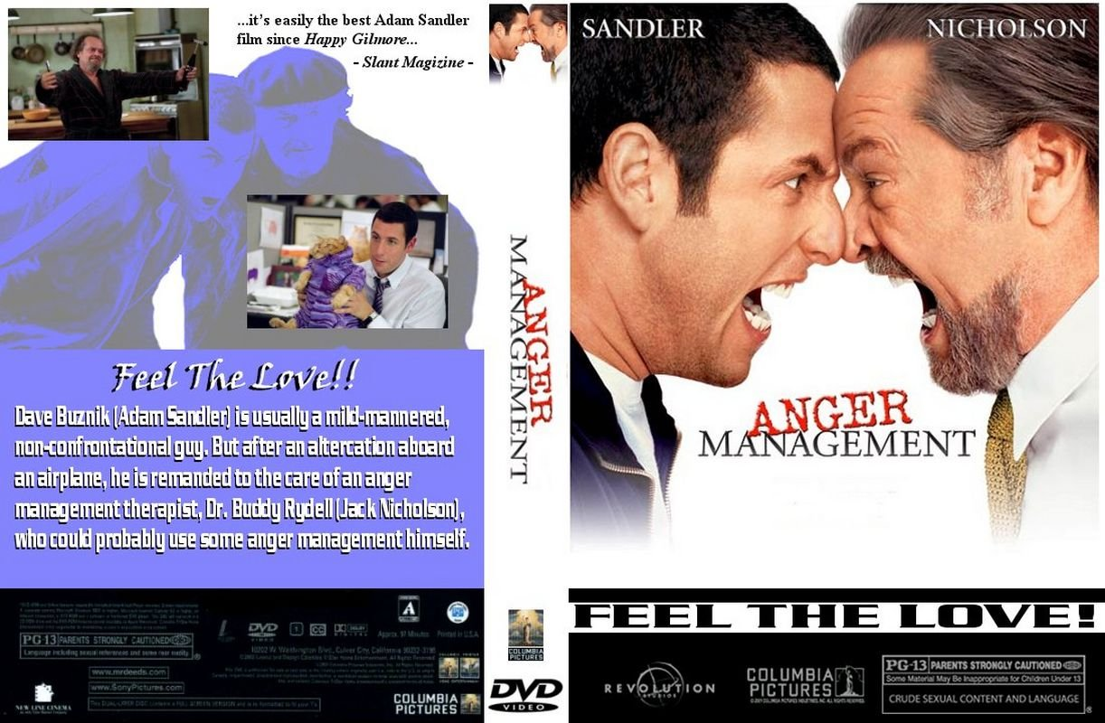 Covers Box Sk Anger Management 2003 High Quality Dvd Blueray Movie