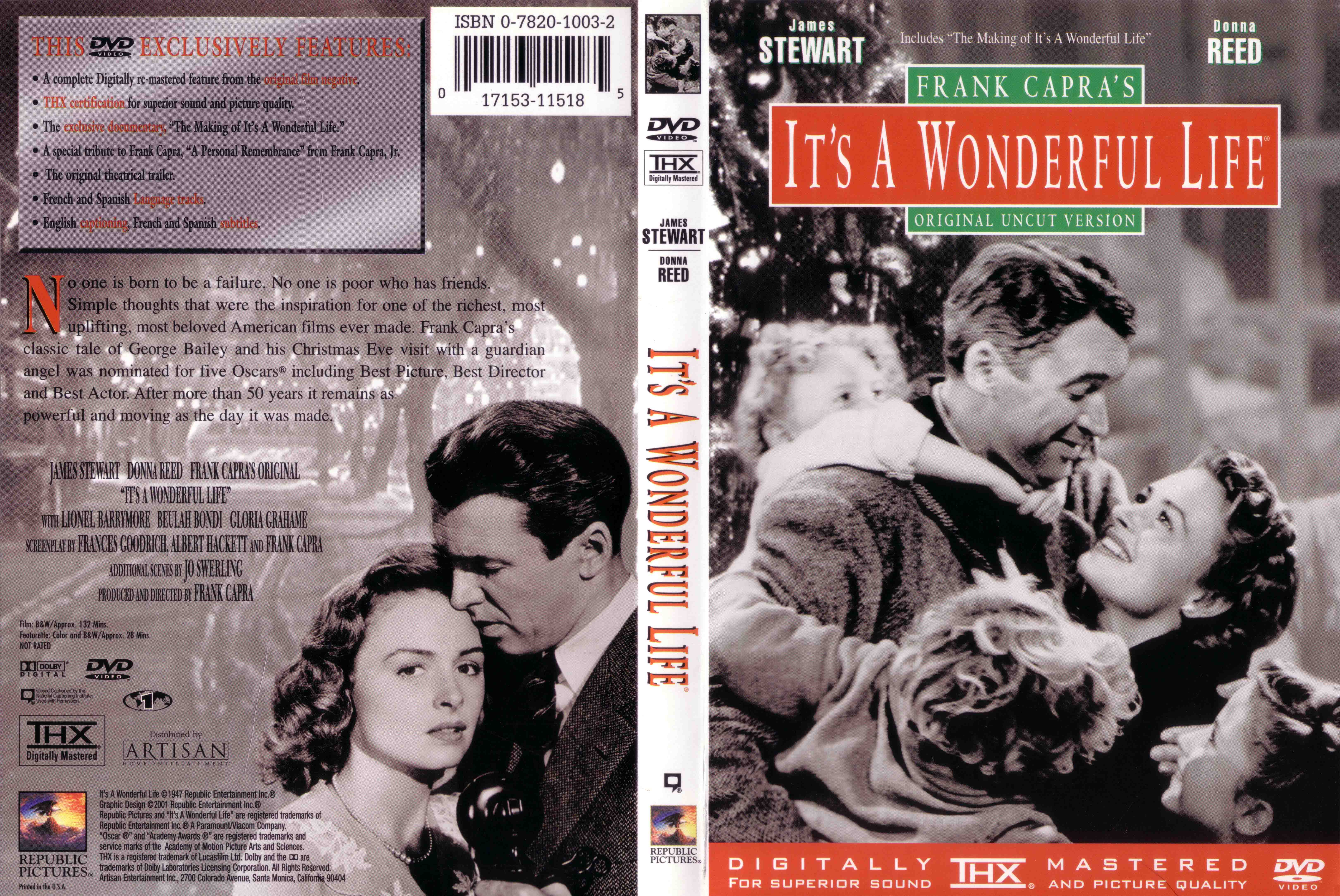 an analysis of the movie its a wonderfull life directed by frank capra Discover and share its wonderful life frank capra quotes explore our collection of motivational and famous quotes by authors you know and love.