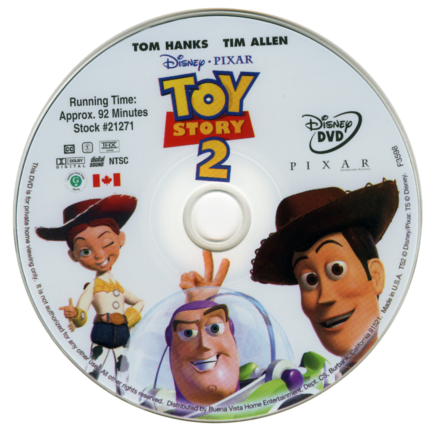 Toy Story 2 Dvd 2001 | www.imgkid.com - The Image Kid Has It!