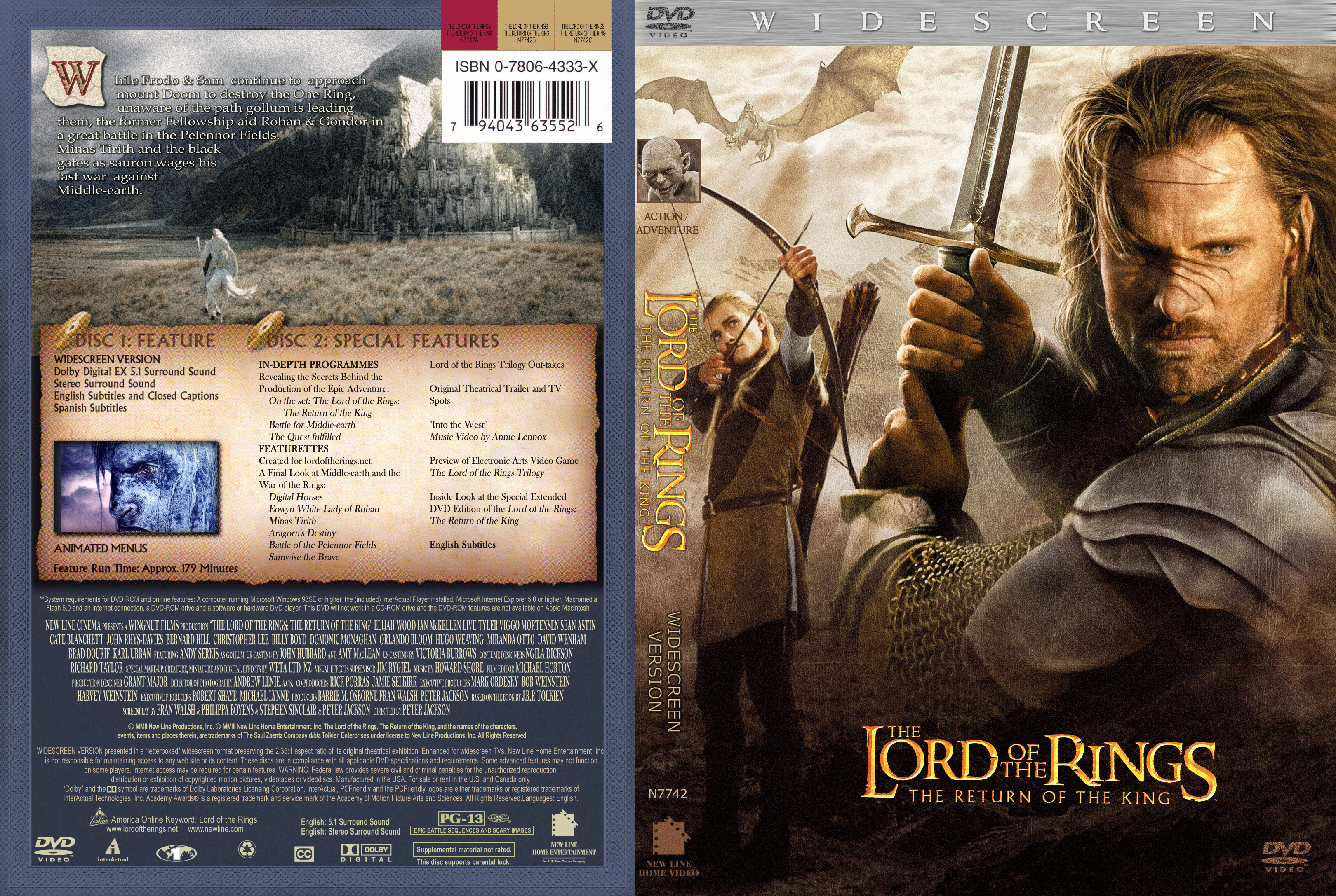 The Lord Of The Rings The Return Of The King With English Subtitles