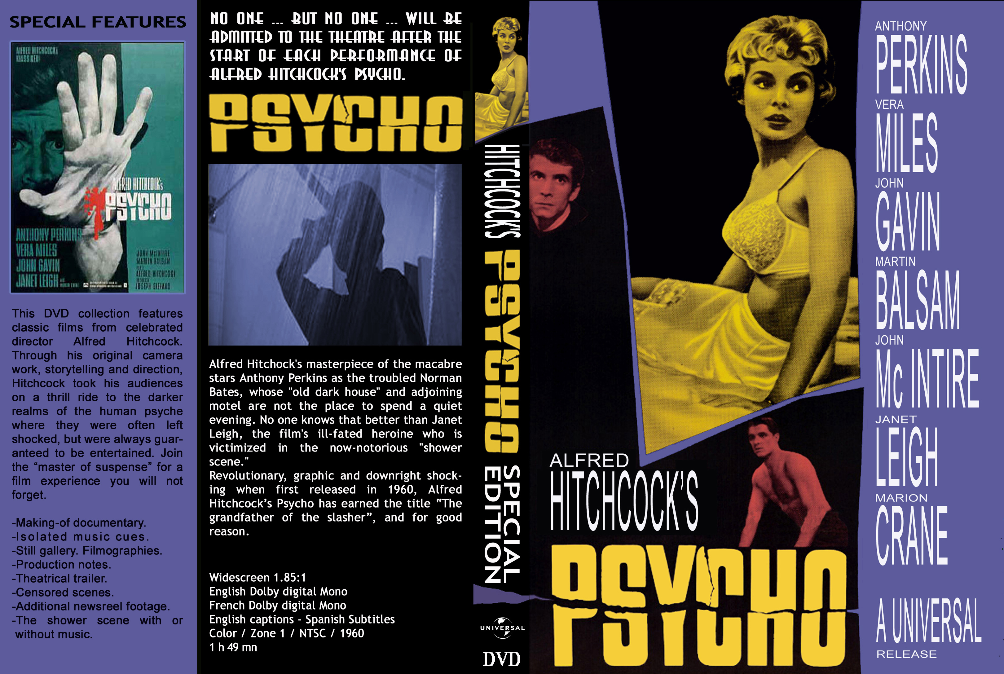 coversboxsk psycho 1960 high quality dvd