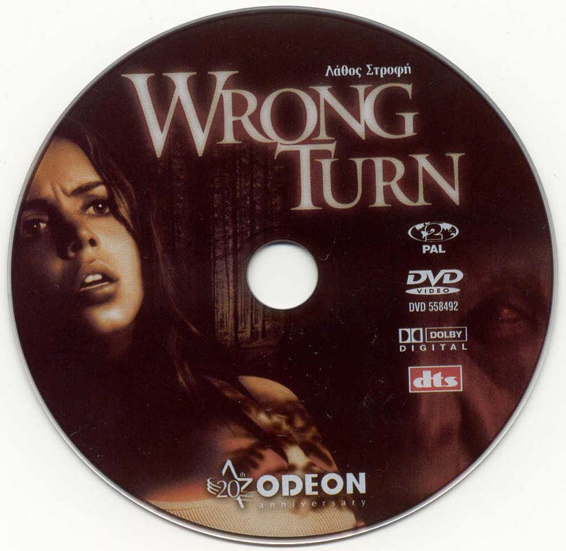 covers box sk wrong turn 2003 high quality dvd blueray movie. Black Bedroom Furniture Sets. Home Design Ideas