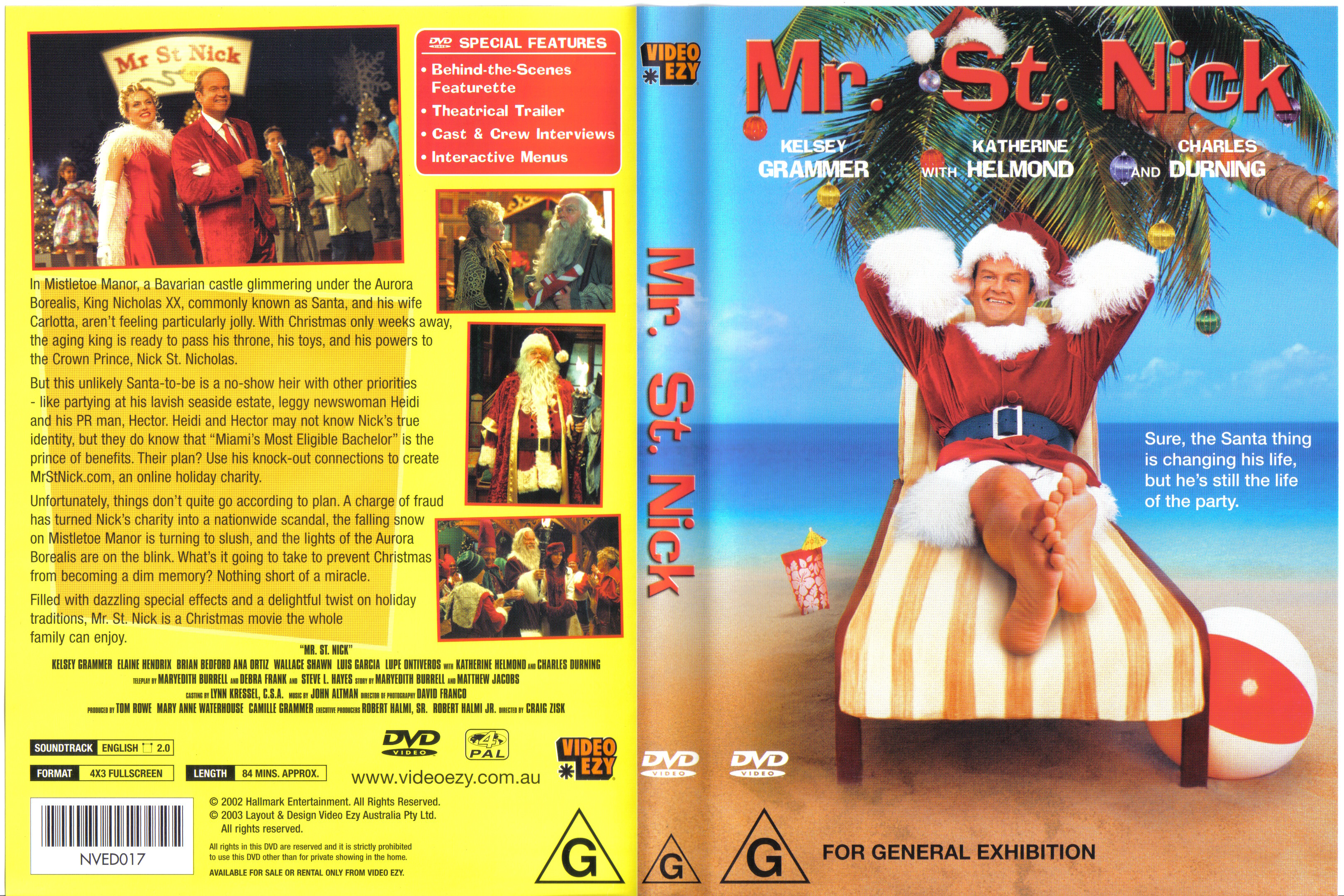 COVERS BOX SK ::: mr st  nick - high quality DVD / Blueray