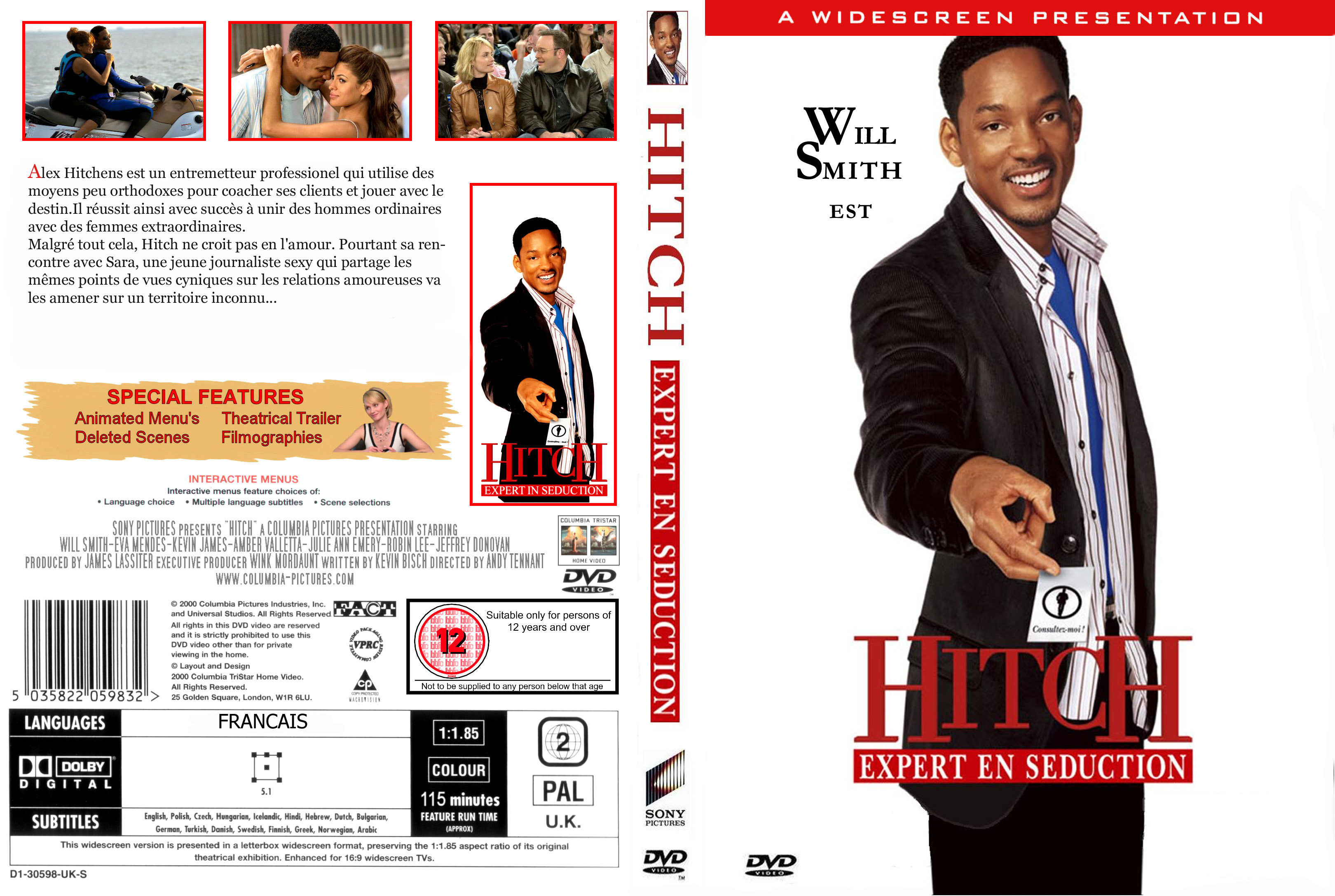 hitch communication and movie Running header: communication 1 communication in hitch sean steward com200: interpersonal communicaton professor tremika pinckney 8/5/13 communication 2 communication in hitch in the movie hitch, will smith play's a man's relationship counselor.