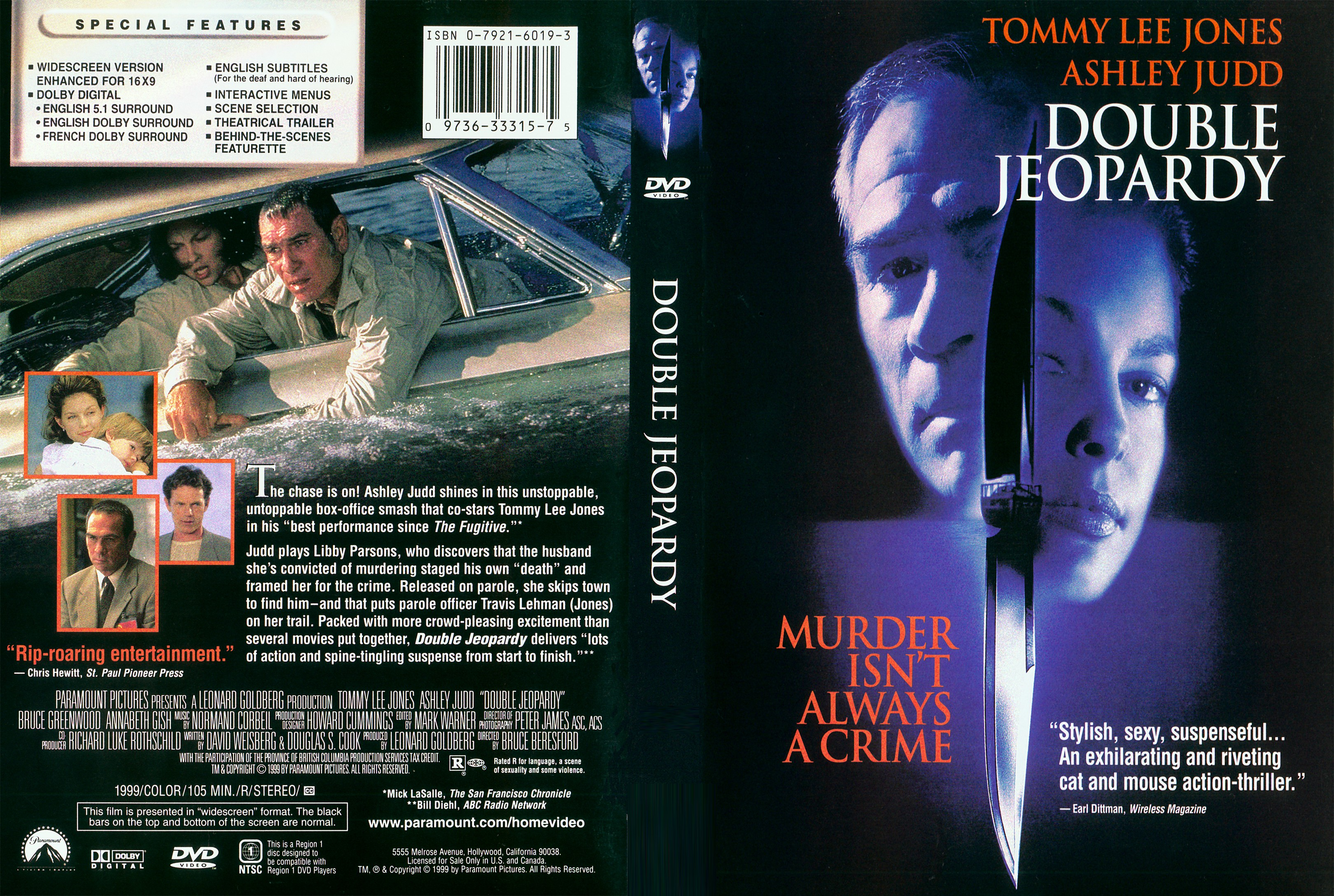 Double jepordy the movie