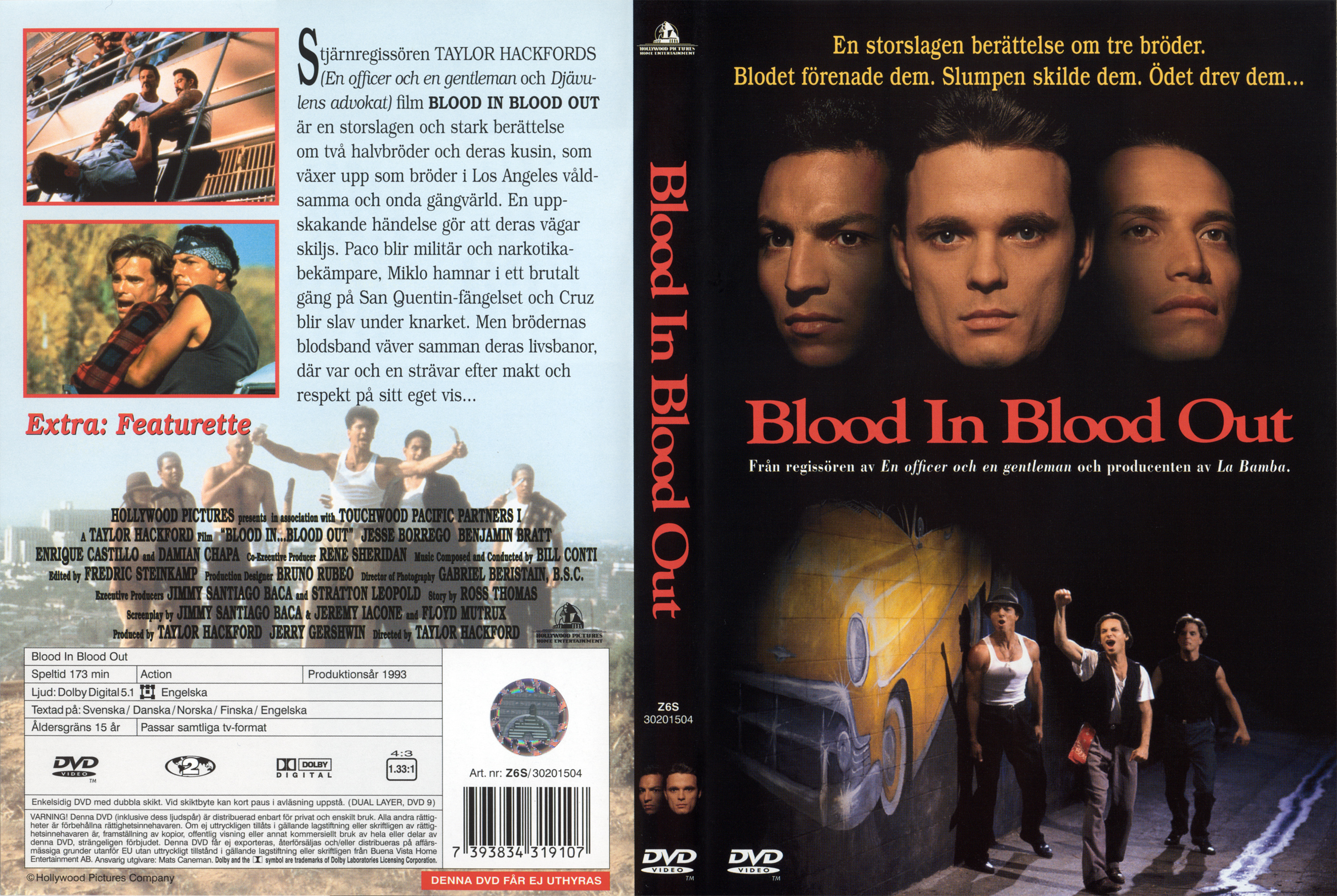 covers box sk blood in blood out 1993 high quality dvd blueray movie. Black Bedroom Furniture Sets. Home Design Ideas