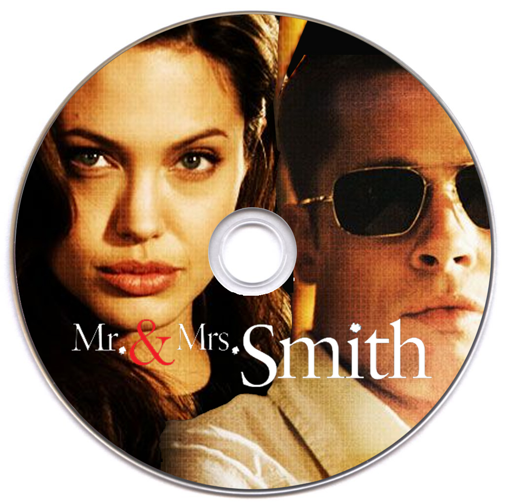 Covers Box Sk Mr Mrs Smith 2005 High Quality Dvd Blueray Movie