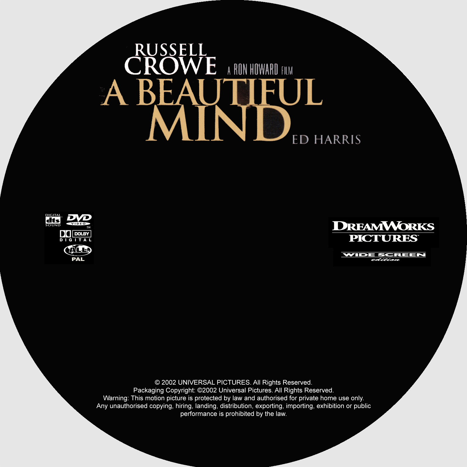 COVERSBOXSK A Beautiful Mind