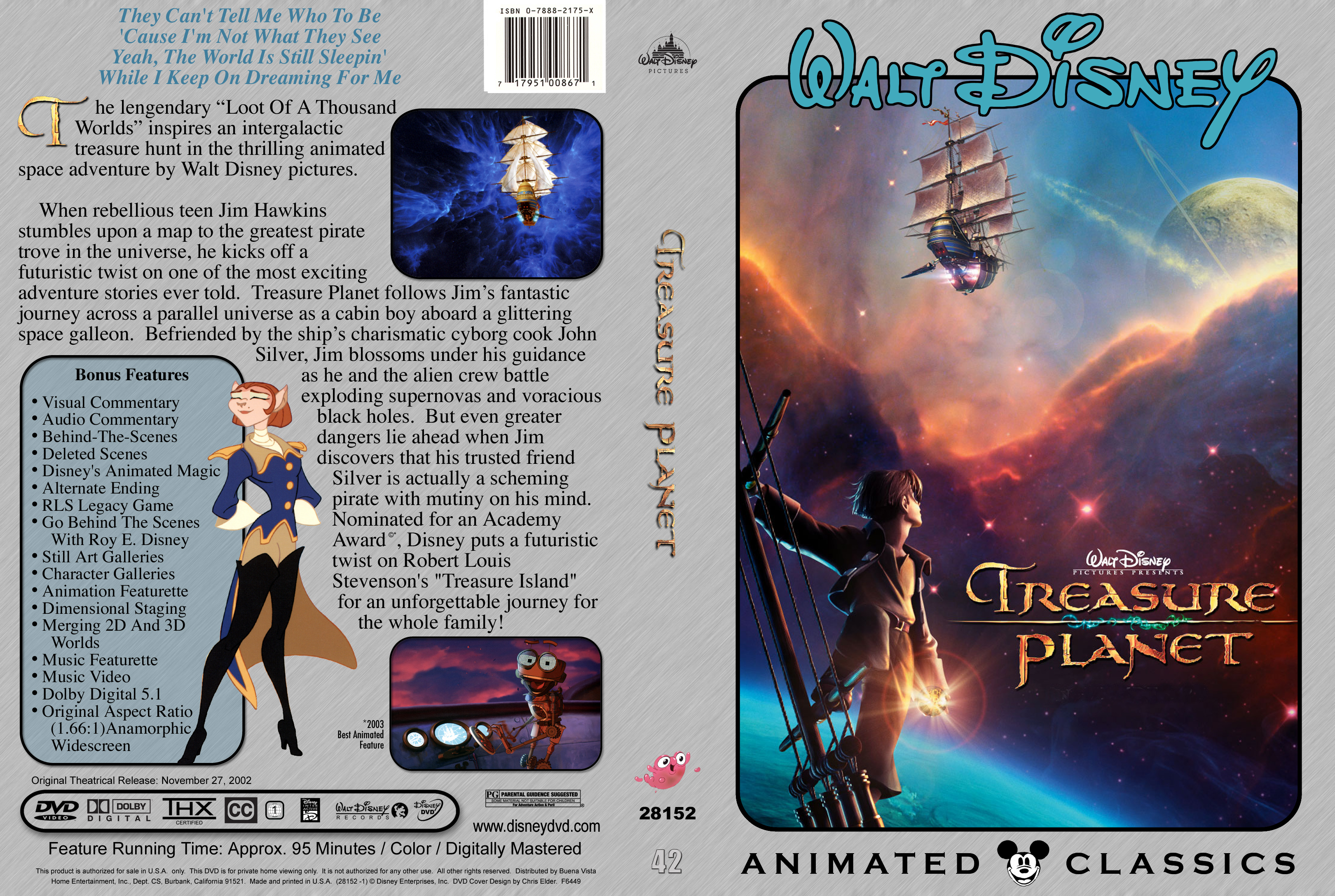 treasure planet dvd - HD 3240×2175