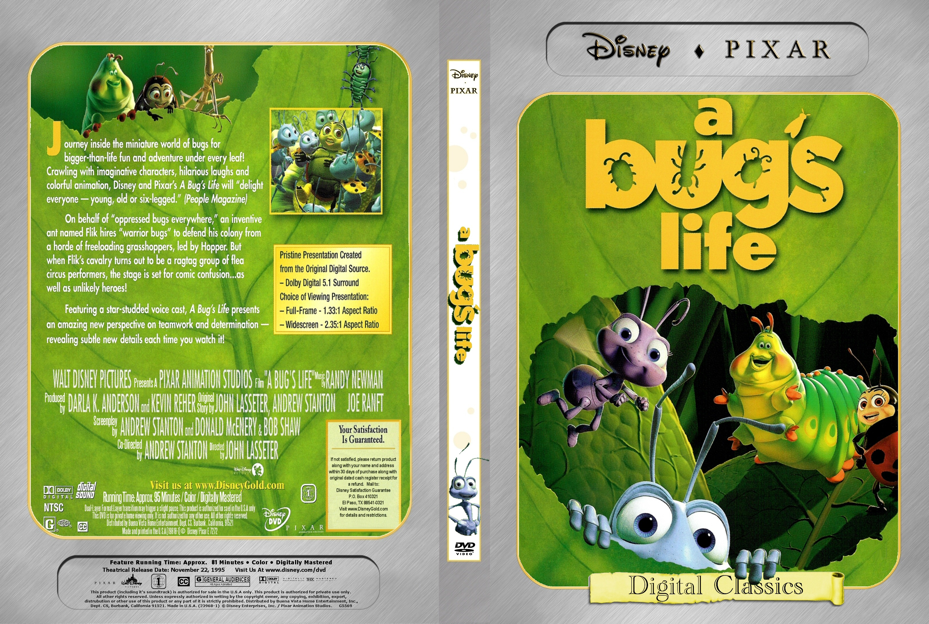 a critical movie review of a bugs life A bug's life blu-ray delivers truly amazing video and audio in this absolutely must-own blu-ray release a colony of ants is threatened by a gang of grass hoppers led by the evil hopper flik, a.