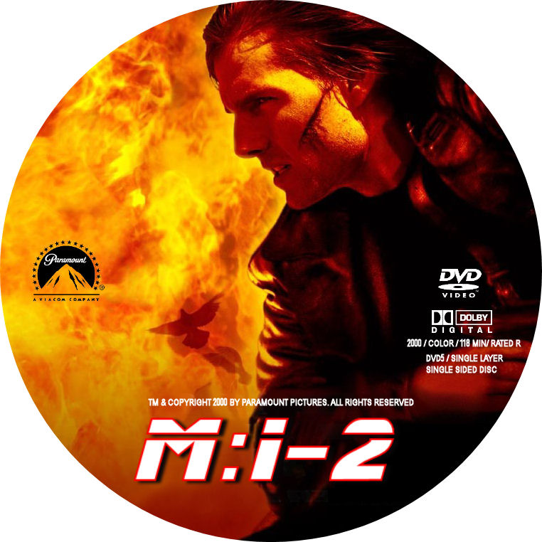 COVERS BOX SK ::: Mission Impossible 2 - high quality DVD