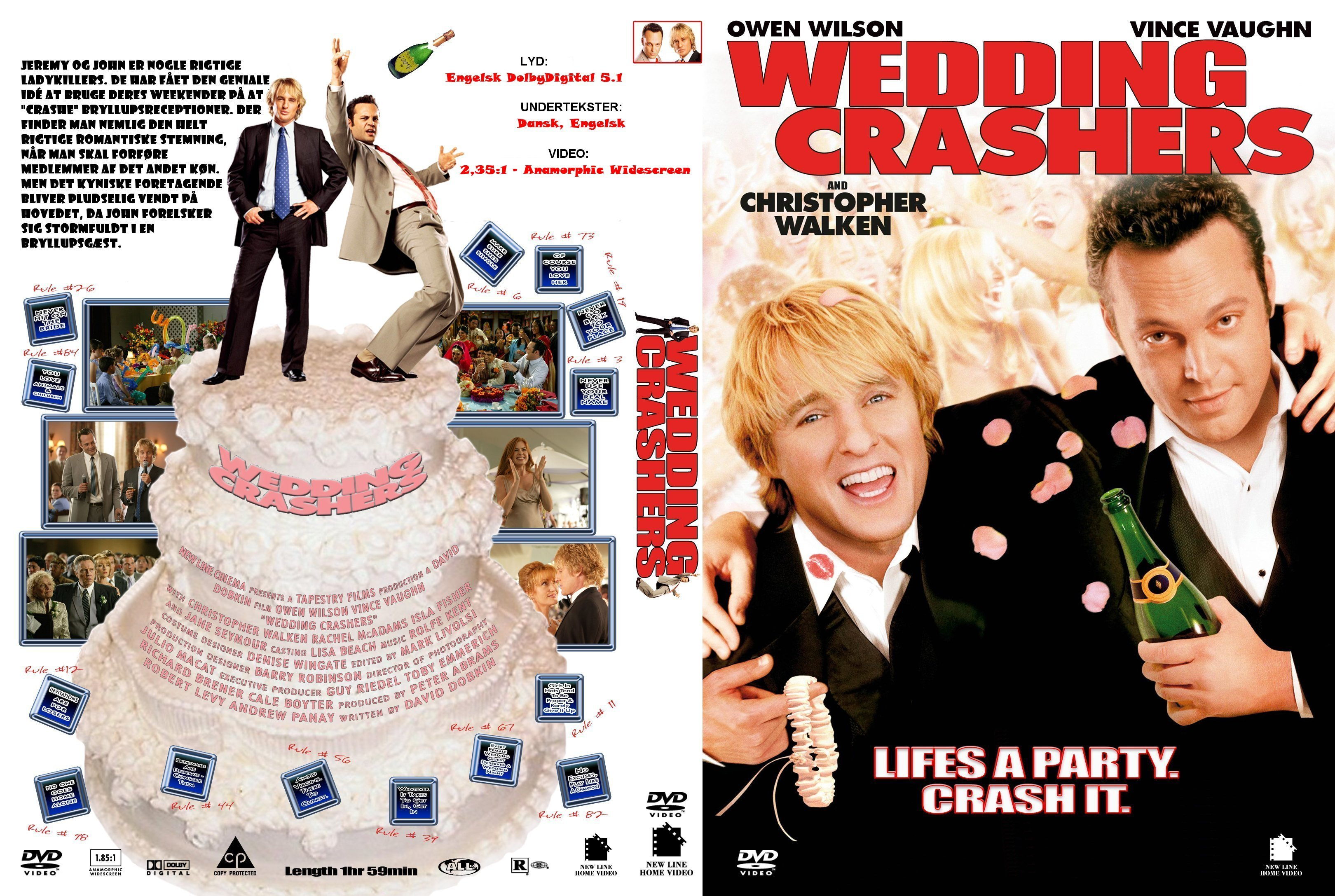 Covers Box Sk Wedding Crashers The 2005 High Quality Dvd Blueray Movie