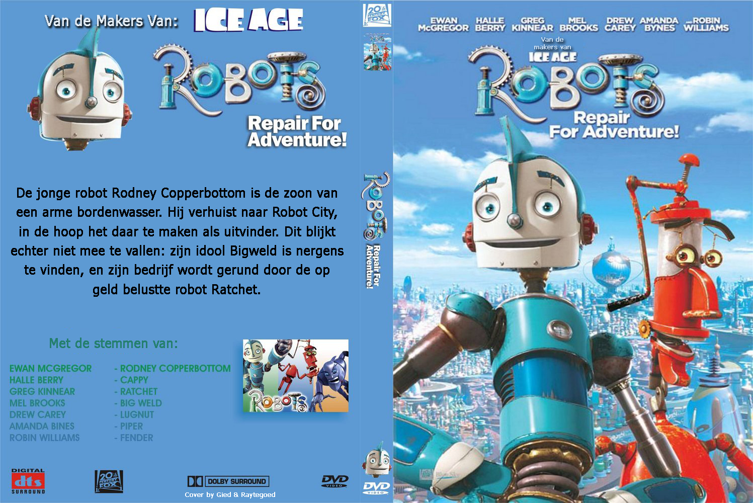 Amazoncom Robots Full Screen Edition Ewan McGregor