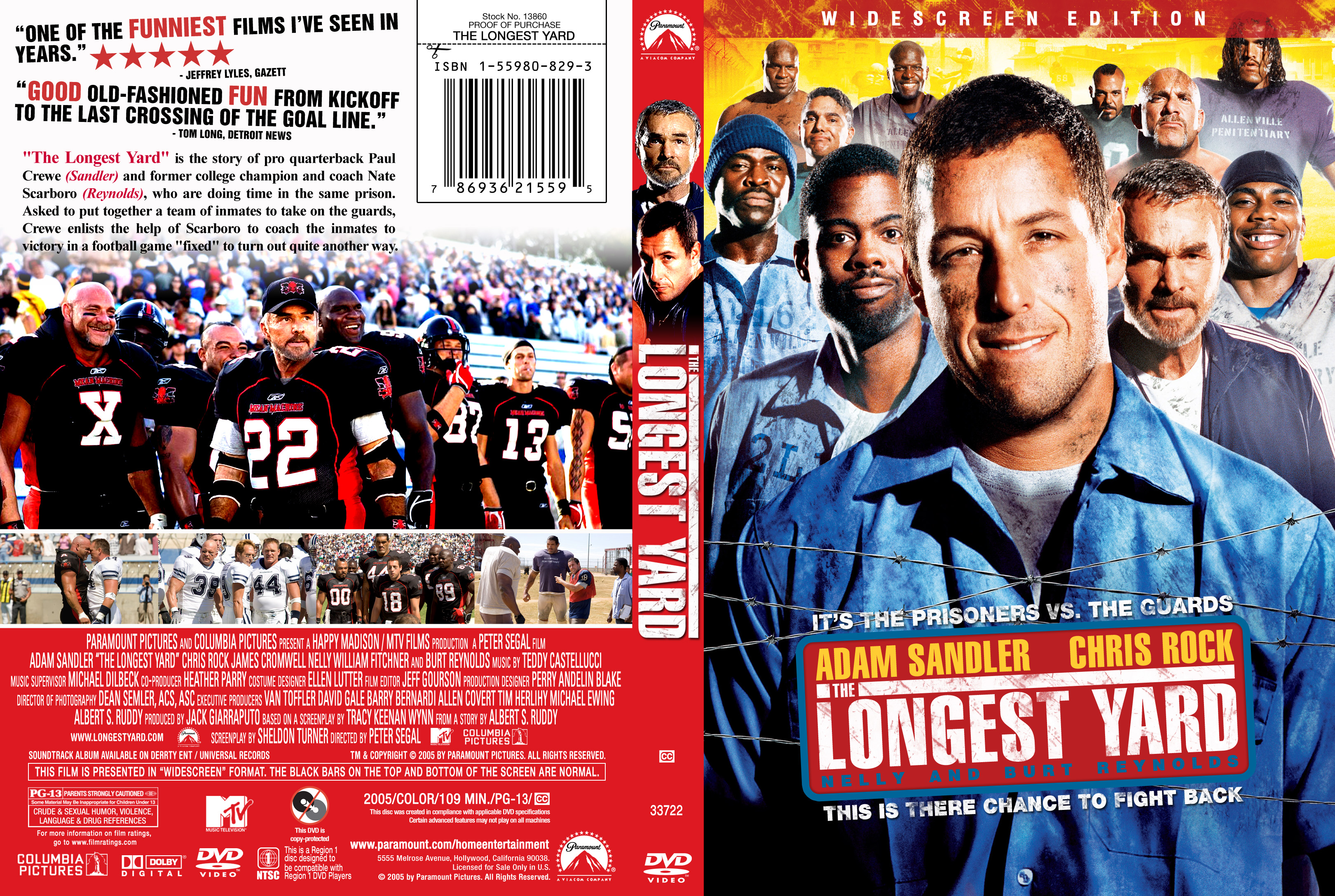 The Longest Yard (2005) Movie The Longest Yard 2005