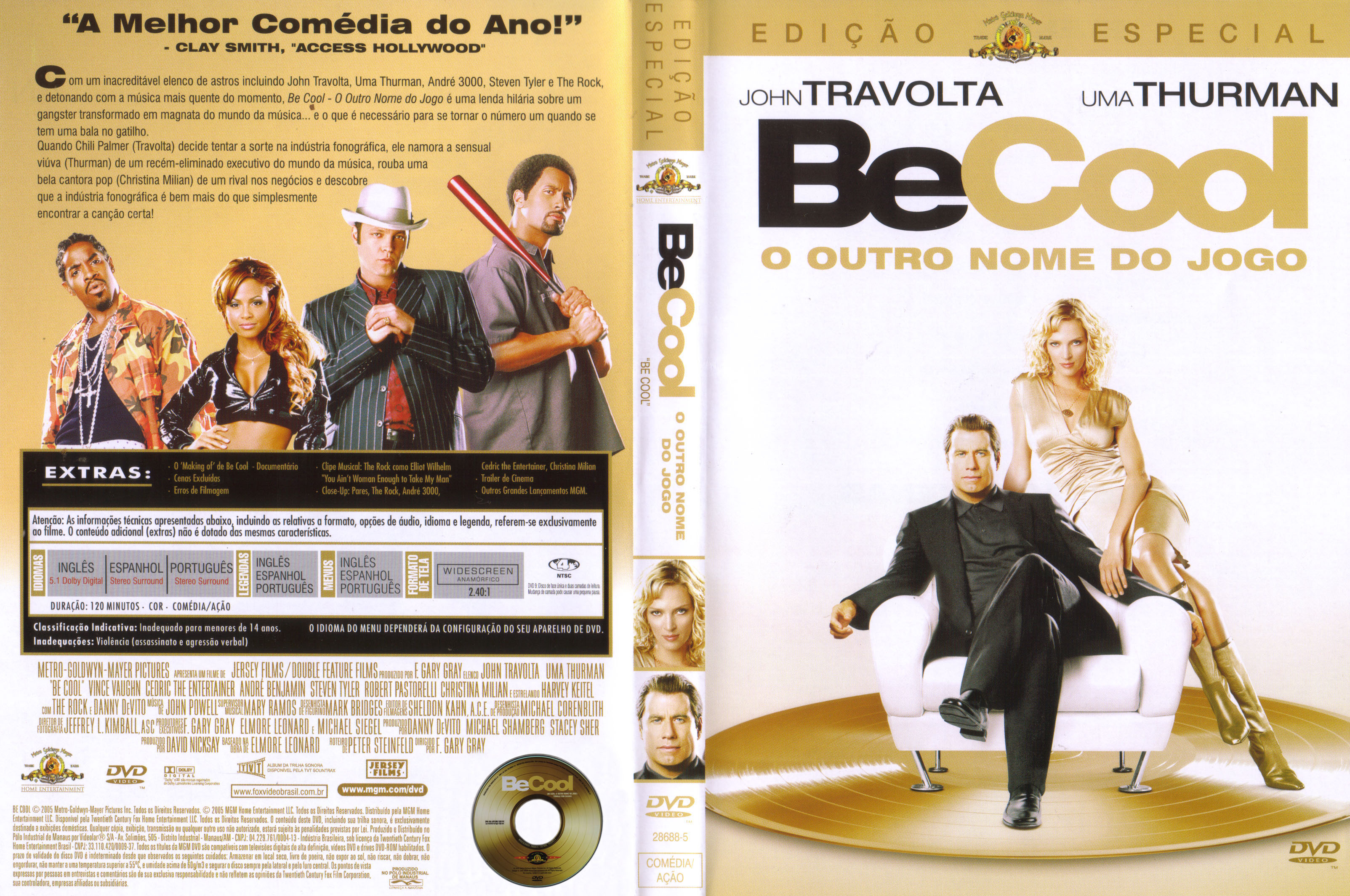 Be Cool movie review & film summary (2005) | Roger Ebert  |Be Cool Movie