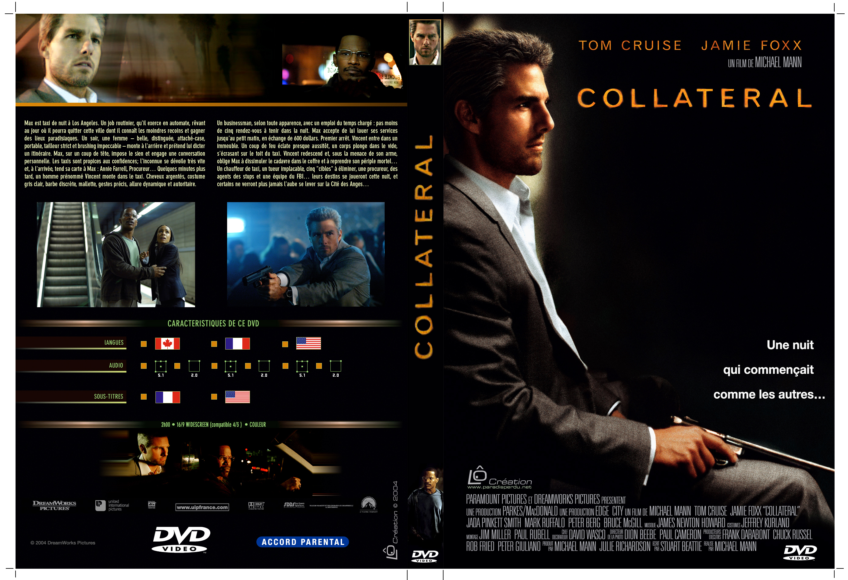 Covers Box Sk Collateral 2004 High Quality Dvd Blueray Movie
