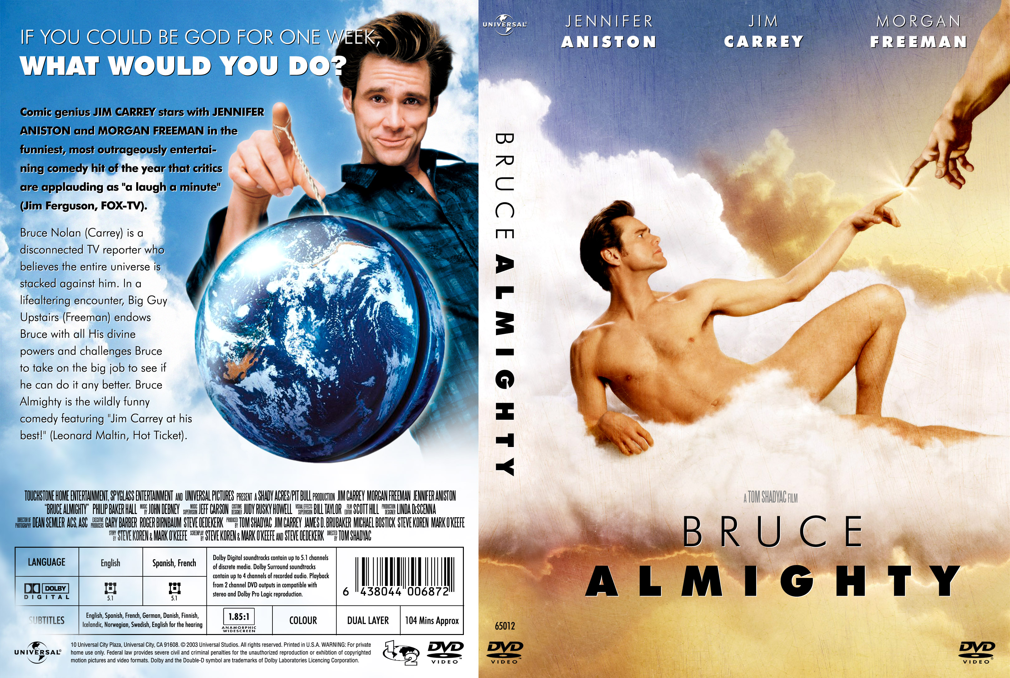 essay on movie bruce almighty
