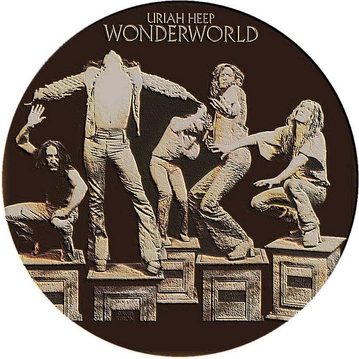 Covers Box Sk Uriah Heep Wonderworld Remaster High Quality Dvd Blueray Movie