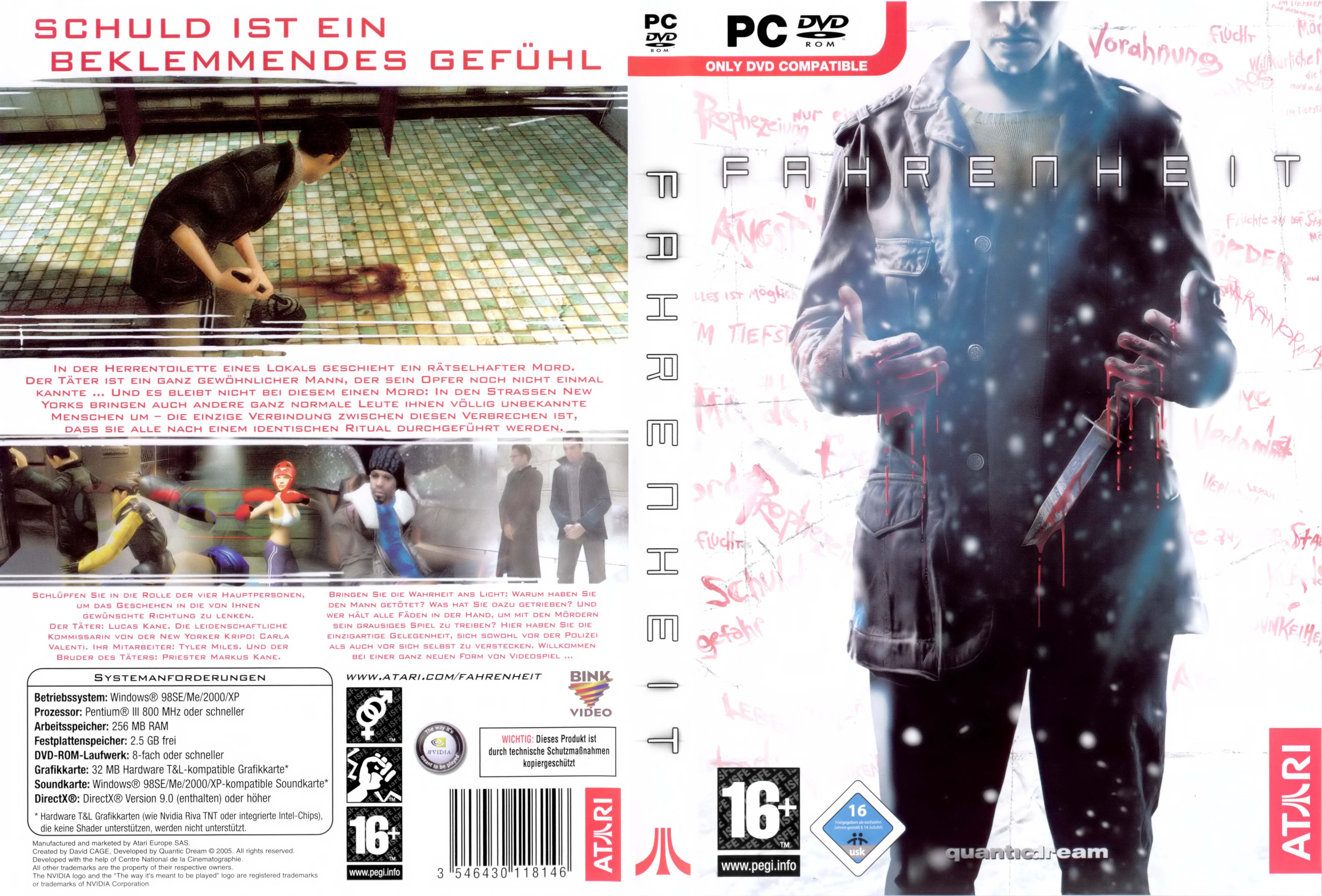 Mi subida! Fahrenheit: Indigo Prophecy PC - Identi