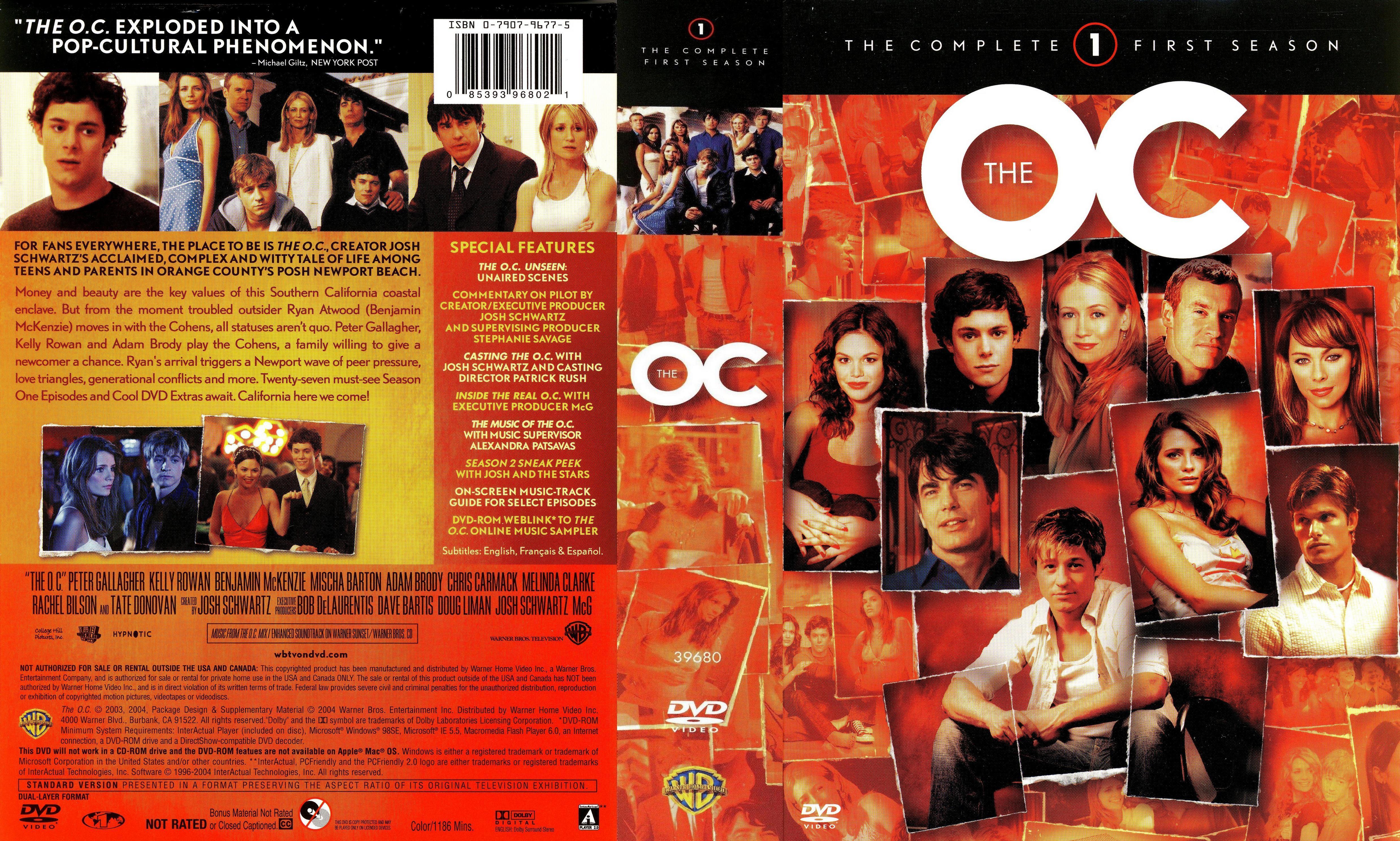 Oc California Dvd Box