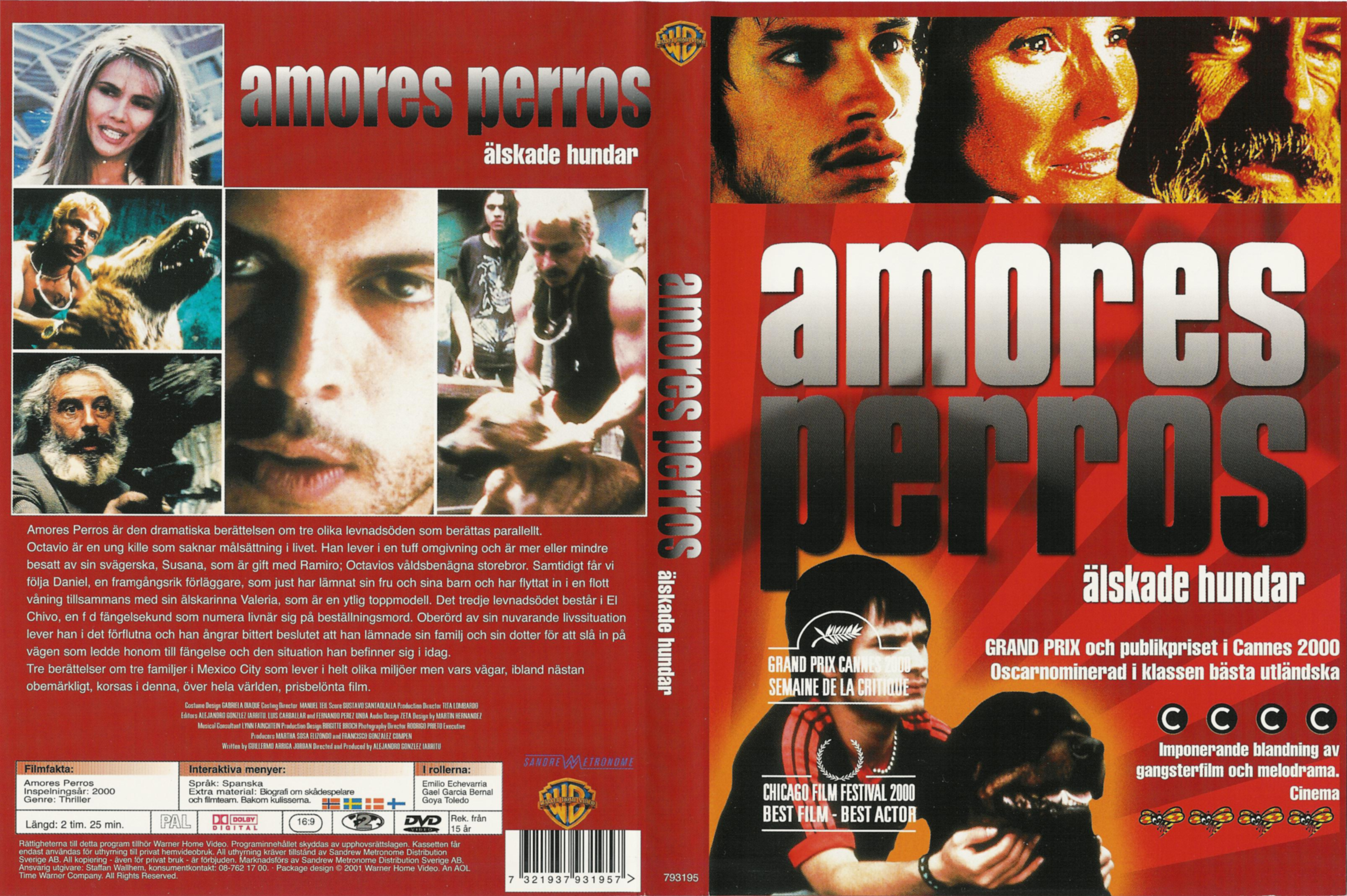 Amores Perros 2000 covers.box.sk ::: amores perros (2000) - high quality dvd