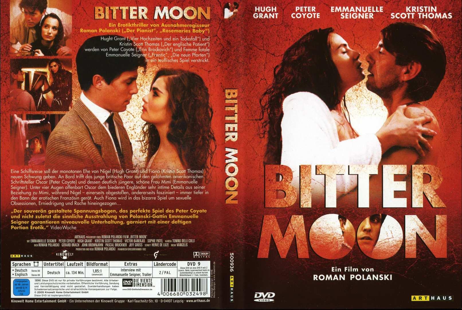 Bitter Moon German Front Back