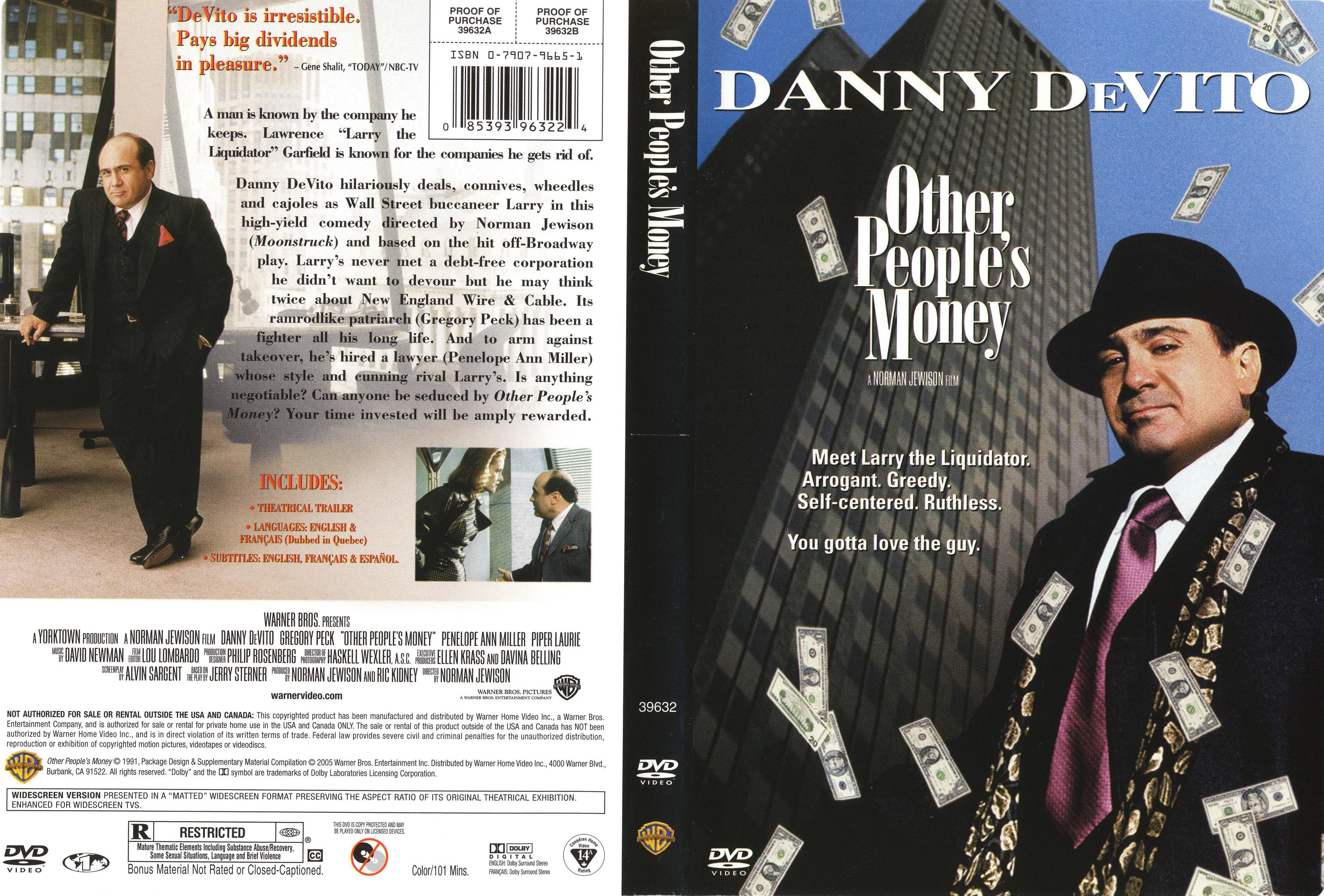 Other Peoples money DVD 1991 A nagy likvidátor / Directed