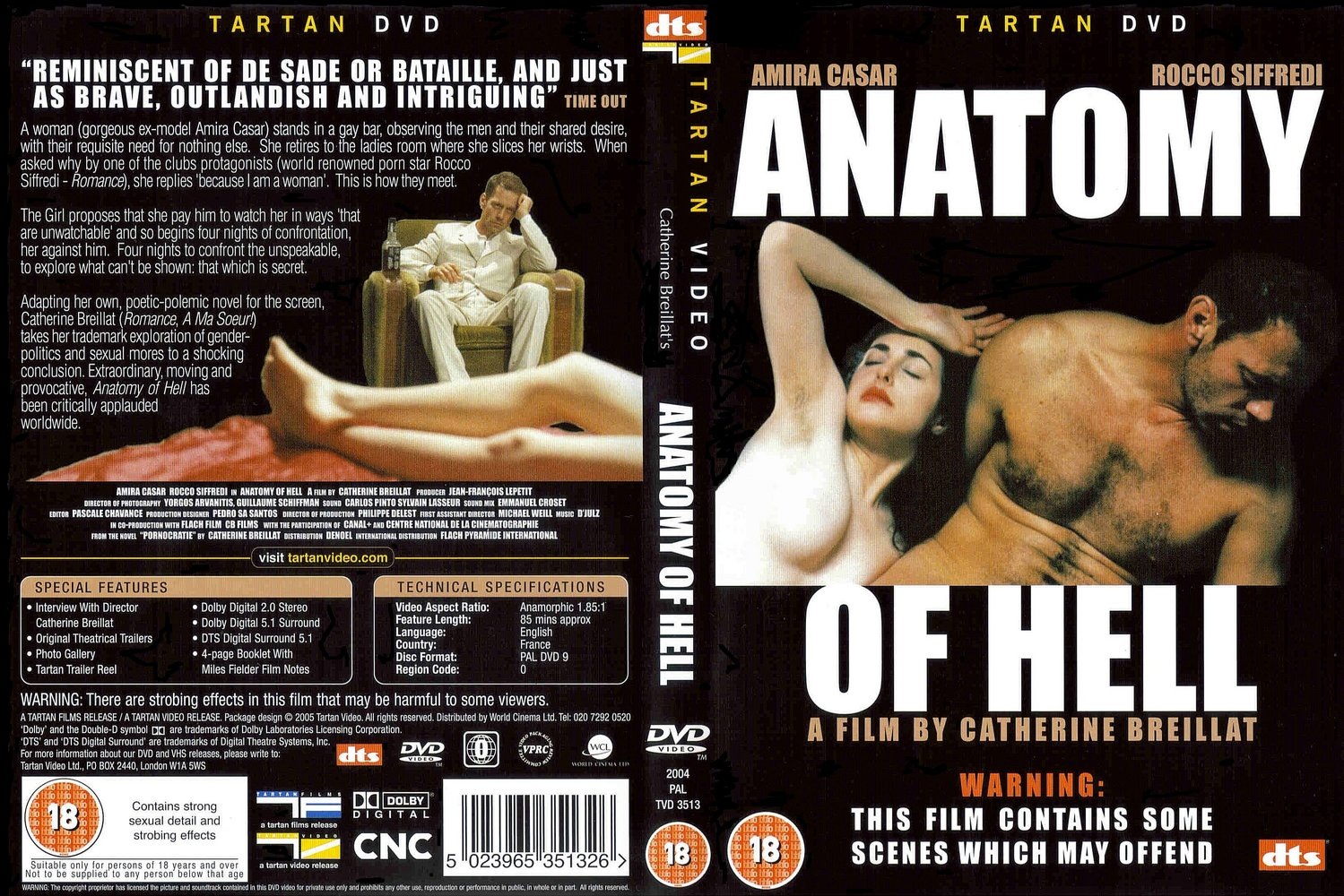 Coversx Anatomy Of Hell High Quality Dvd Blueray Movie