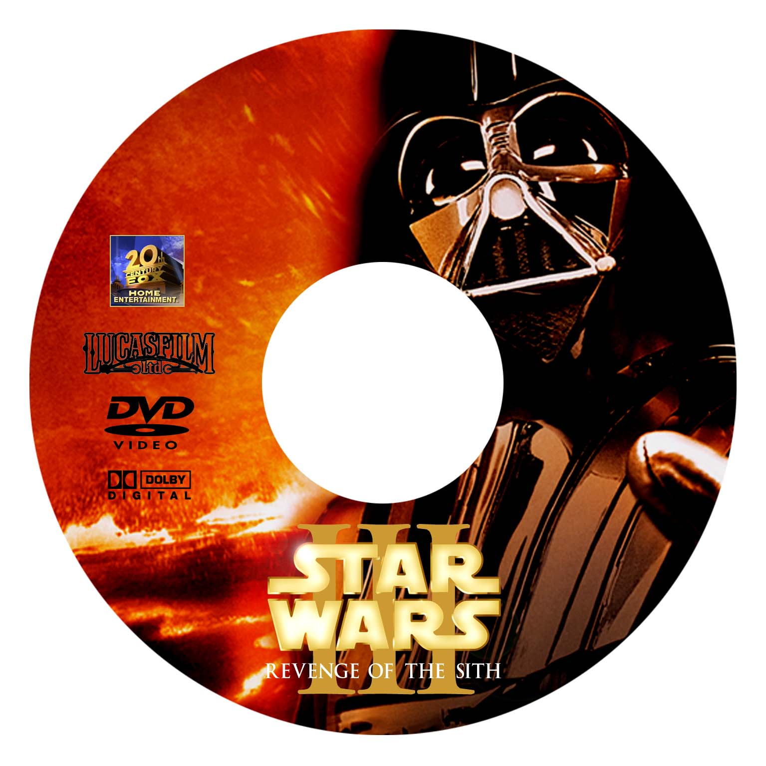 Covers Box Sk Star Wars Iii Revenge Of The Sith Dvd High Quality Dvd Blueray Movie
