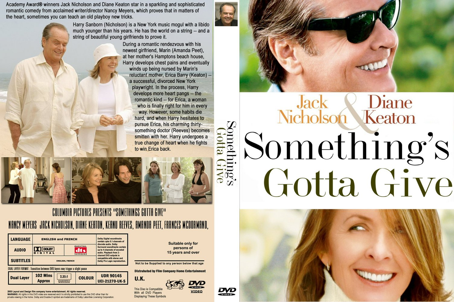 Something's gotta give movie house