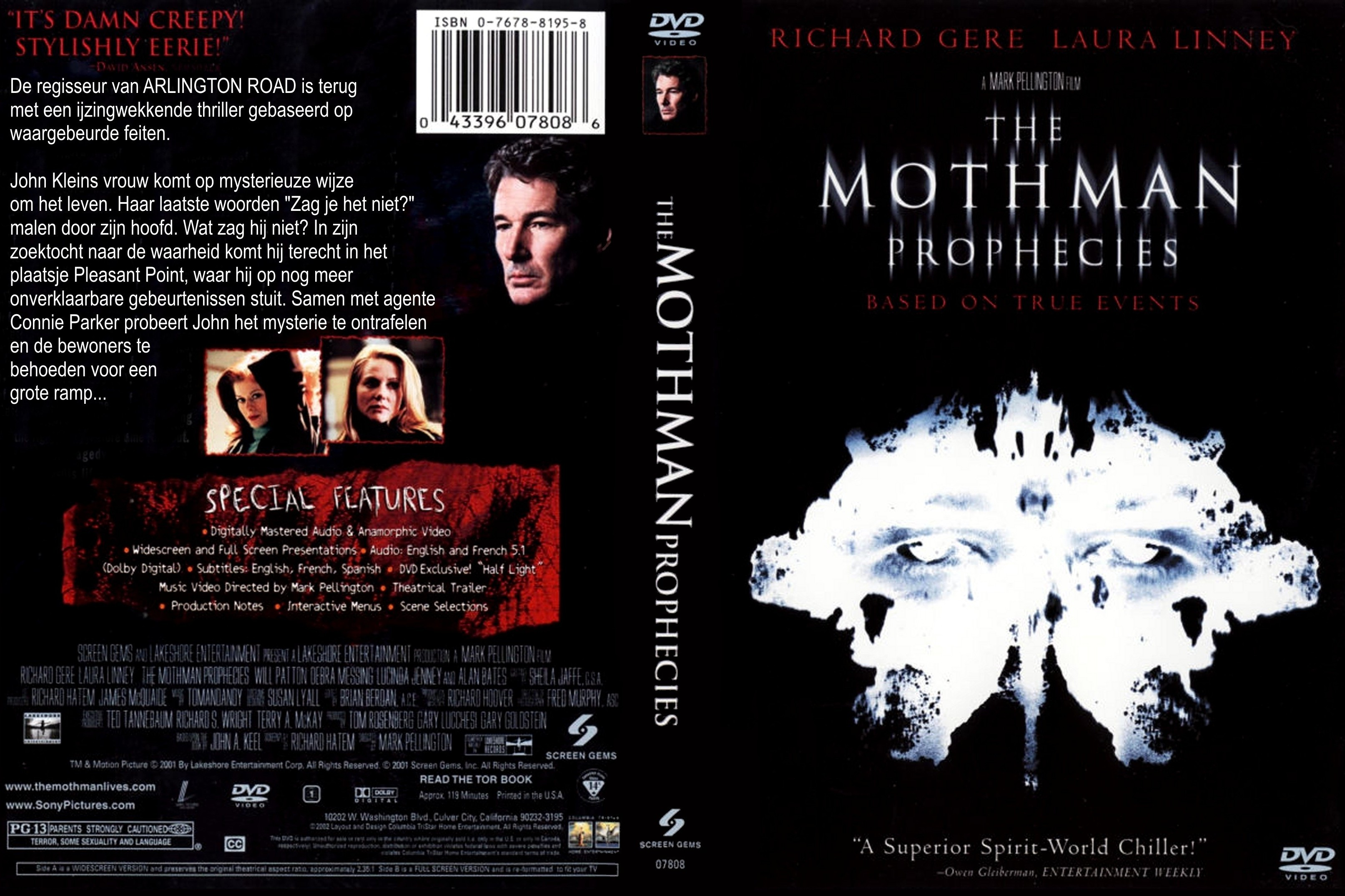 The Mothman Prophecies Book