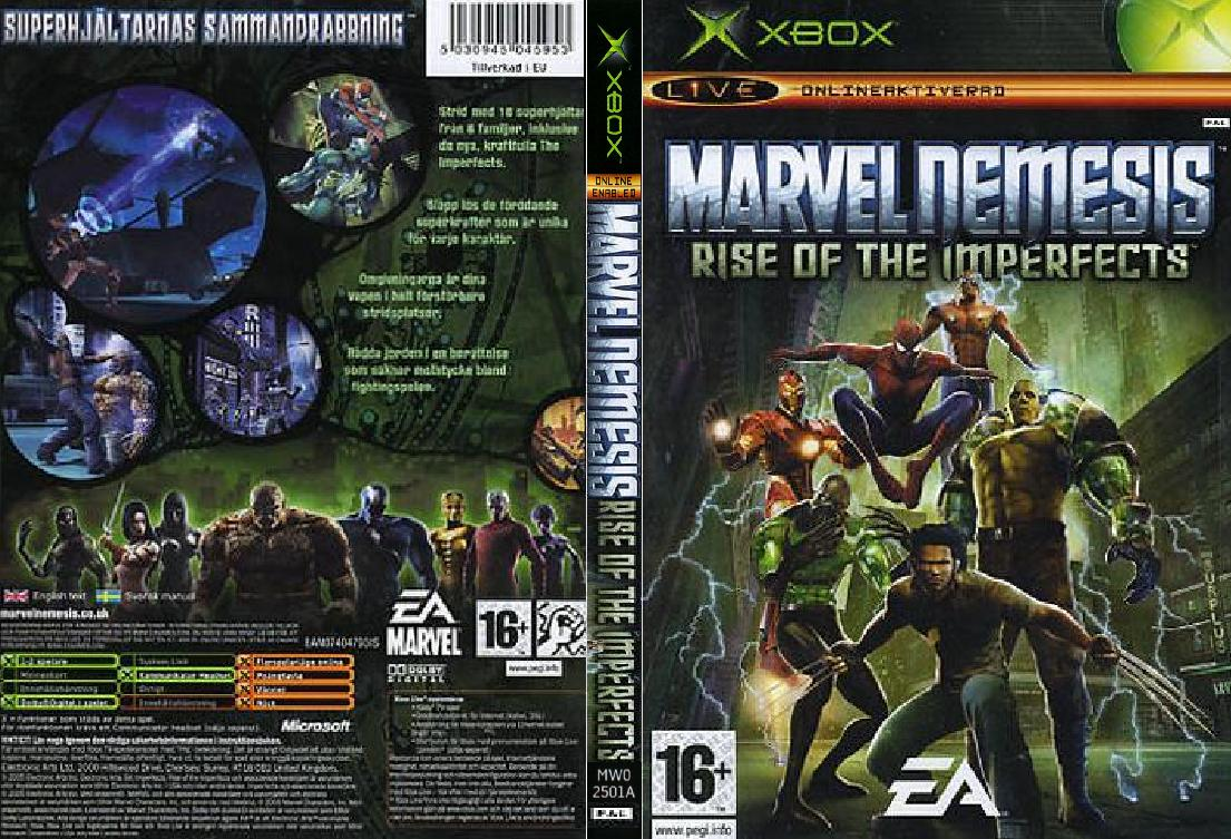 Marvel Nemesis Rise Of The Imperfects Characters