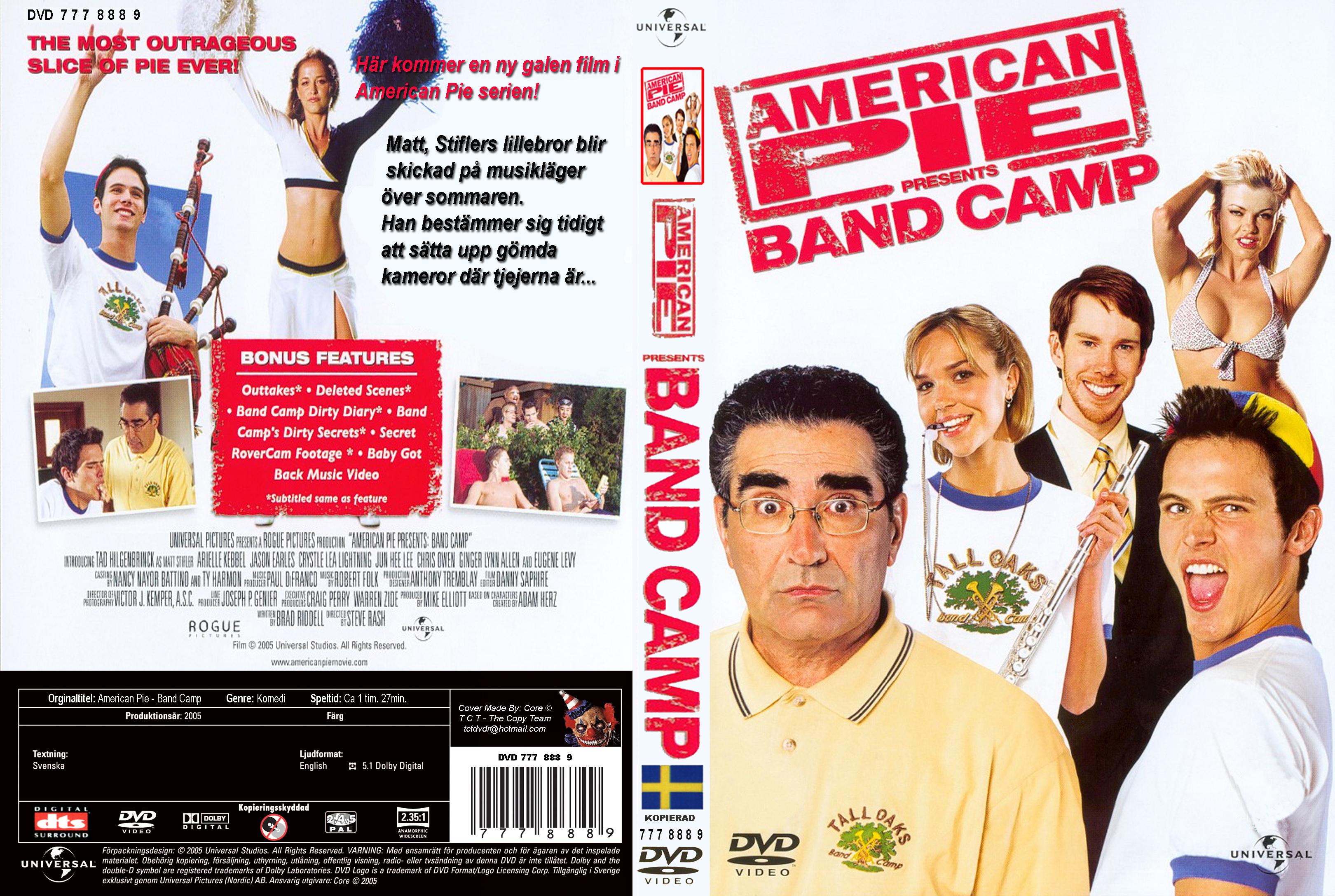 American Pie Campamento De Bandas covers.box.sk ::: american pie band camp swedish - high
