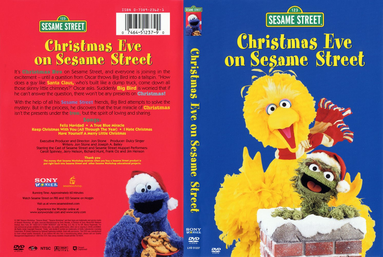 COVERS.BOX.SK ::: Christmas Eve on Sesame Street (1978) - high ...