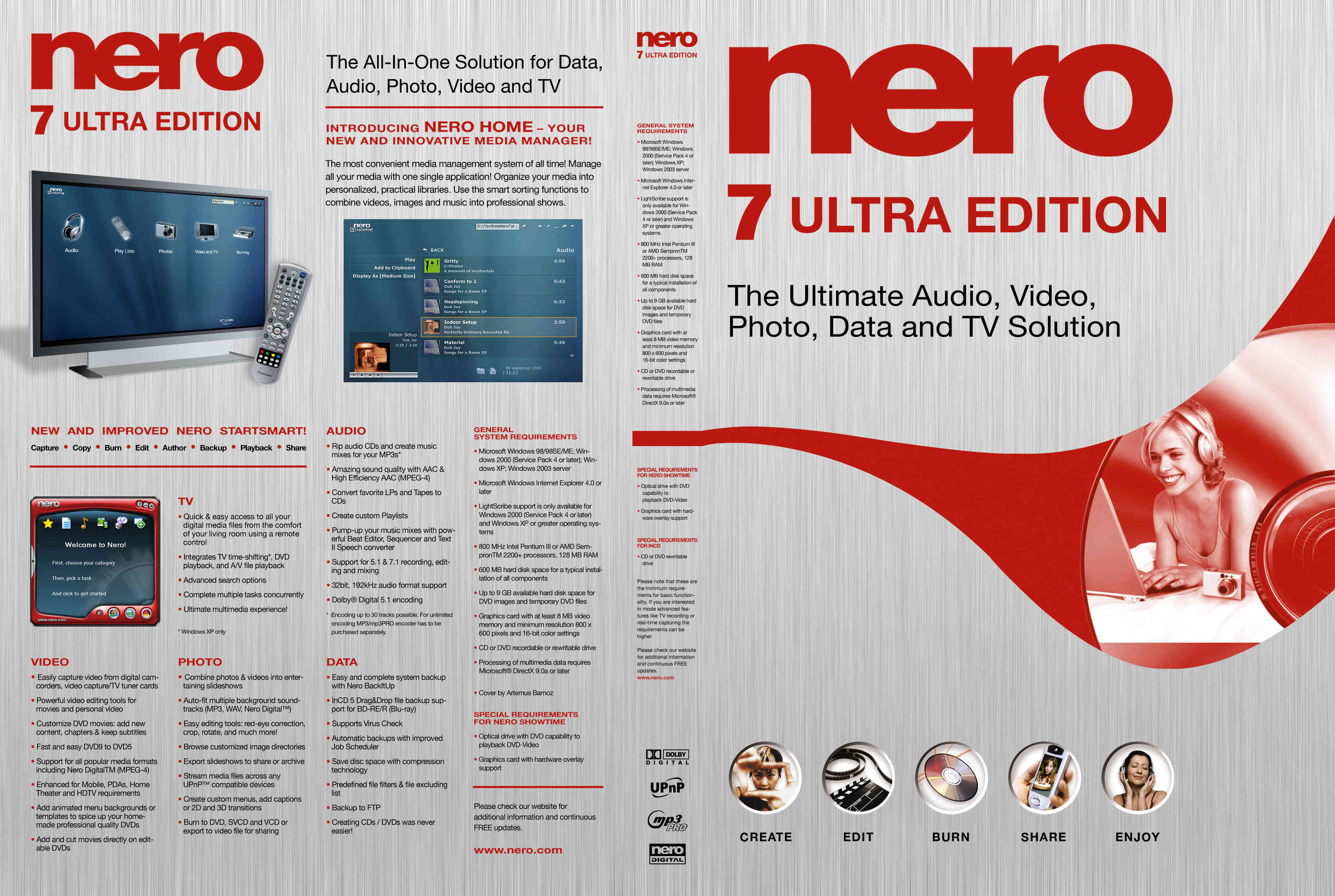 Nero 7 Ultra Edition