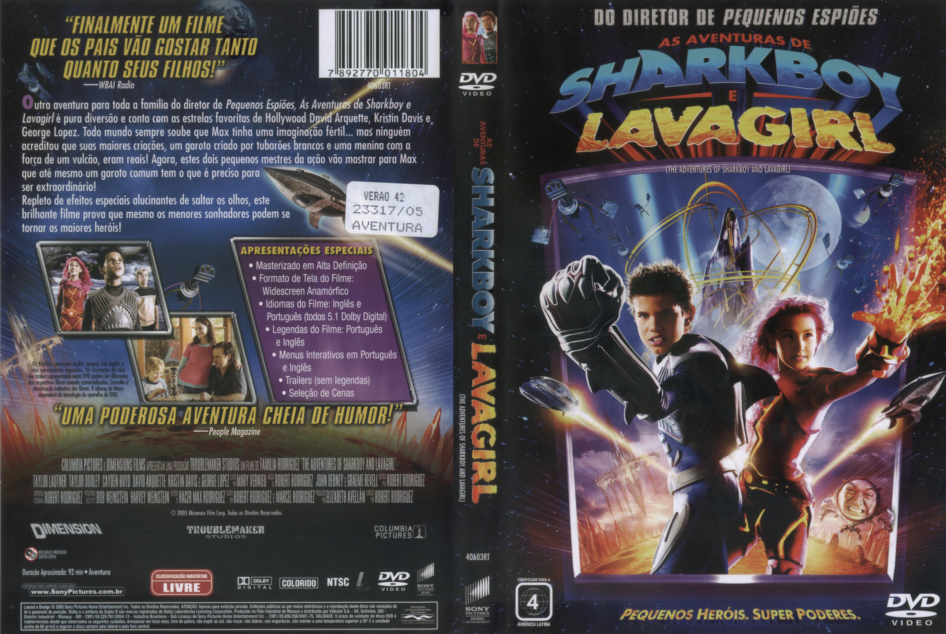 the adventures of sharkboy and lavagirl 2 full movie