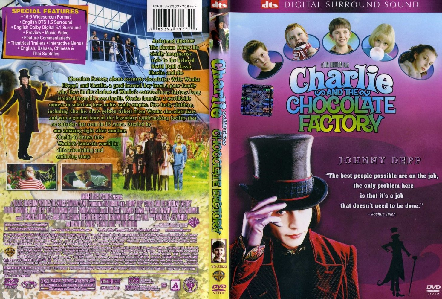 COVERS.BOX.SK ::: Charlie and the Chocolate Factory (2005) - high ...