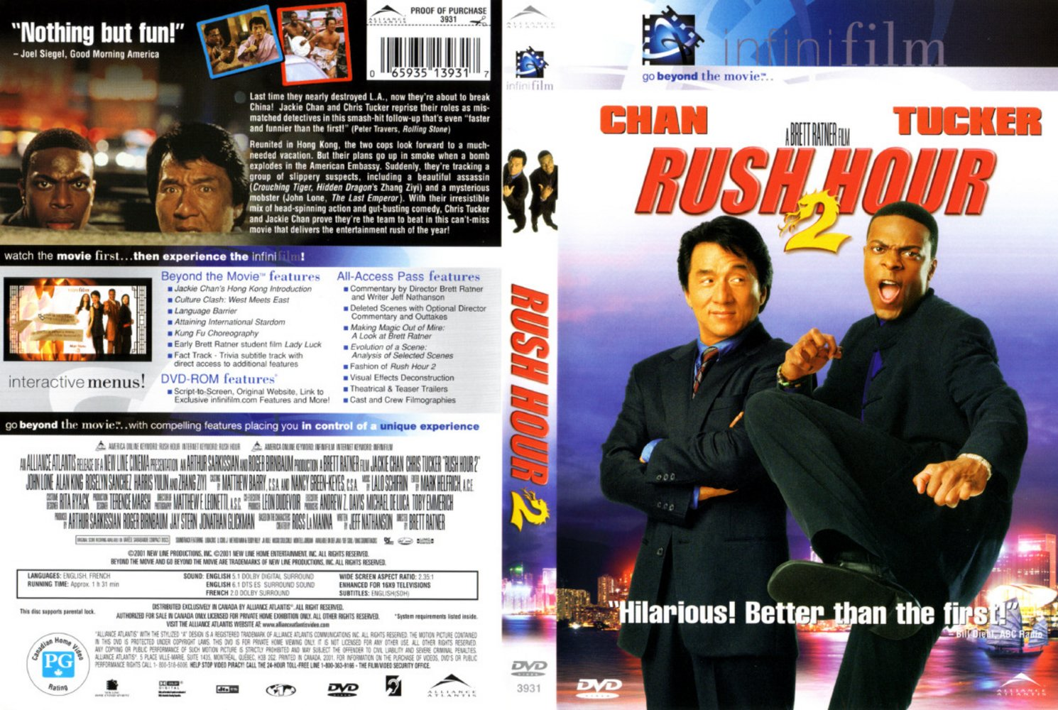 an analysis of rush hour an action movie starring jackie chan and chris tucker