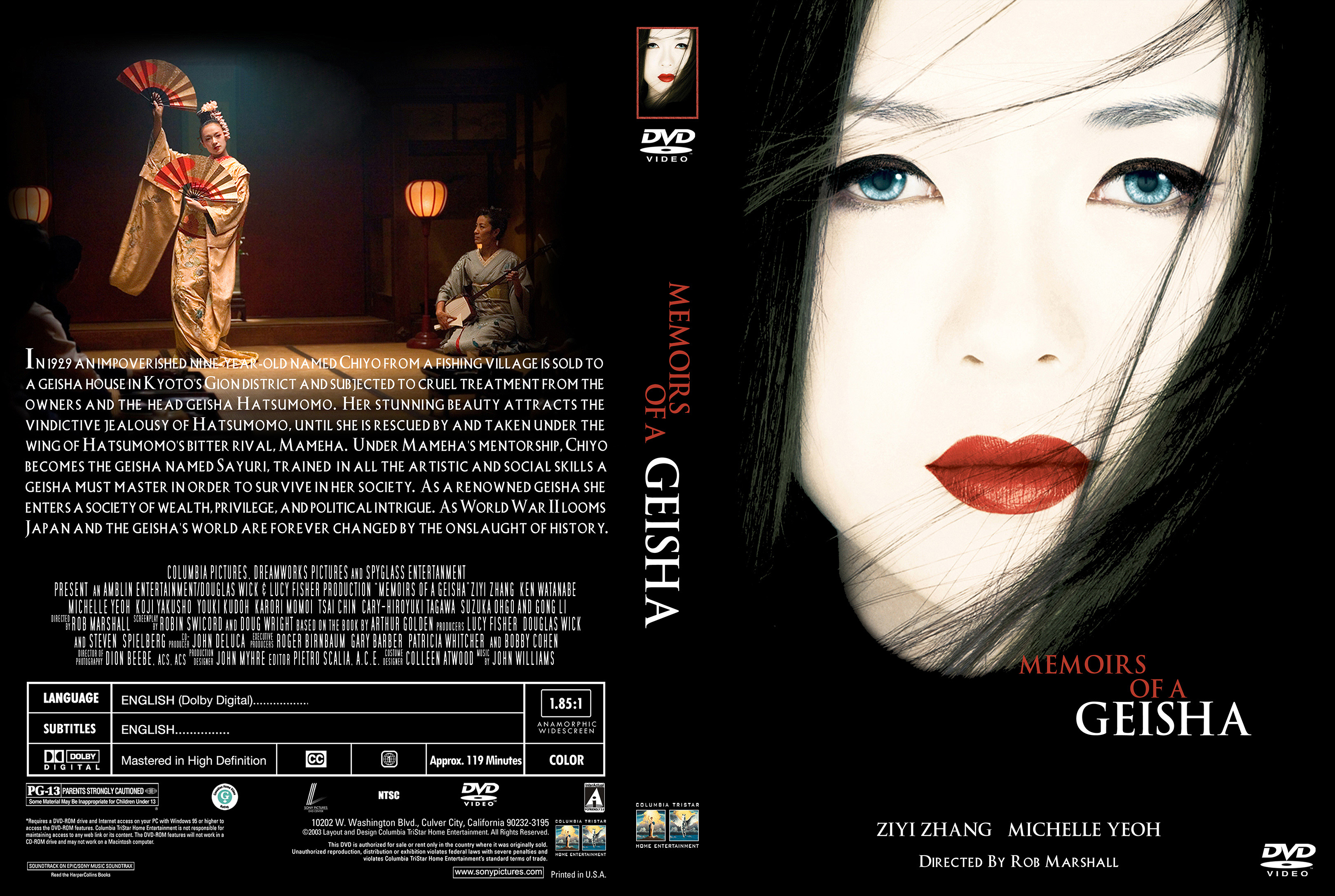 thesis memoirs of a geisha