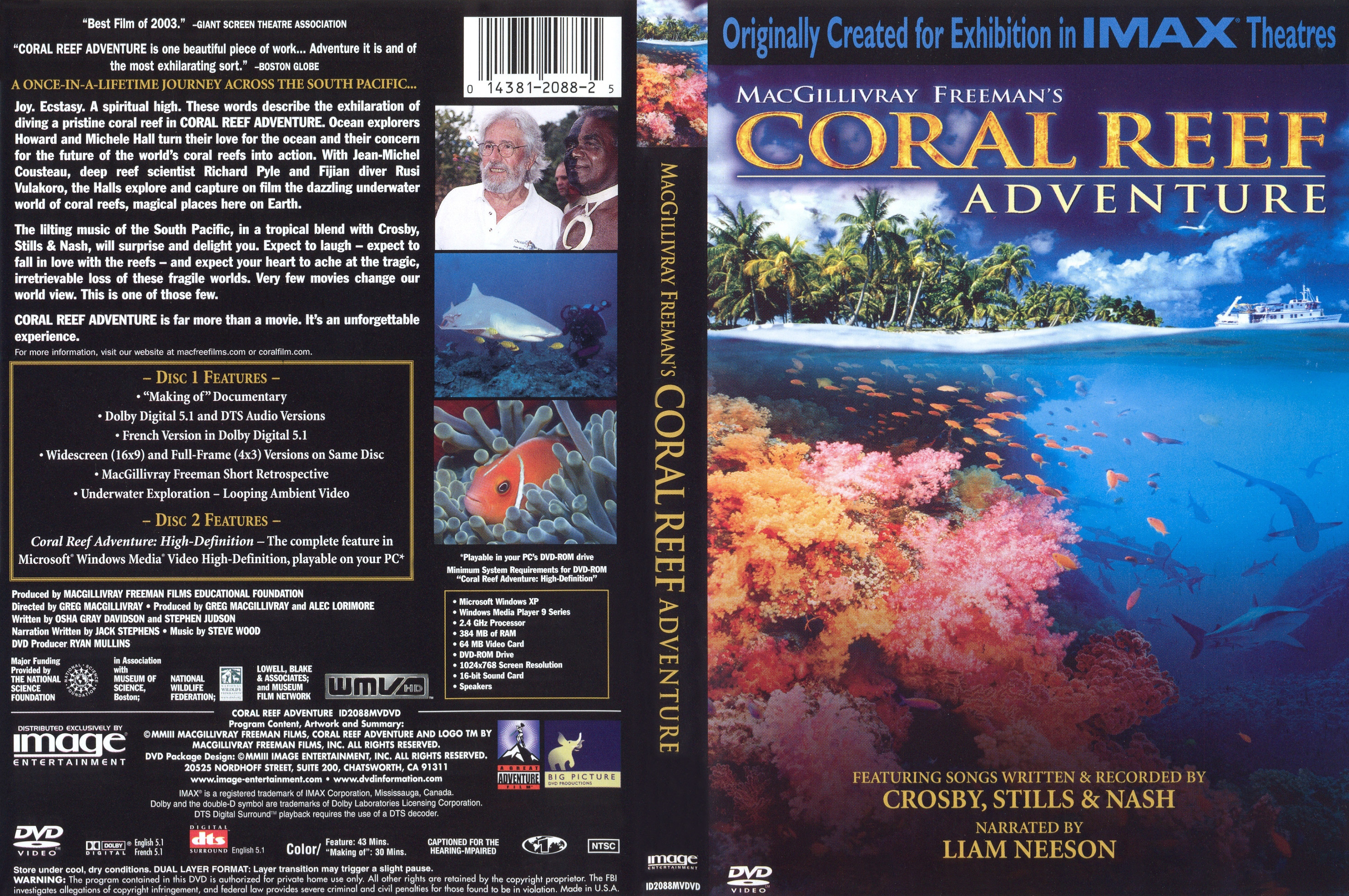 covers box sk coral reef adventure 2003 high quality dvd blueray movie