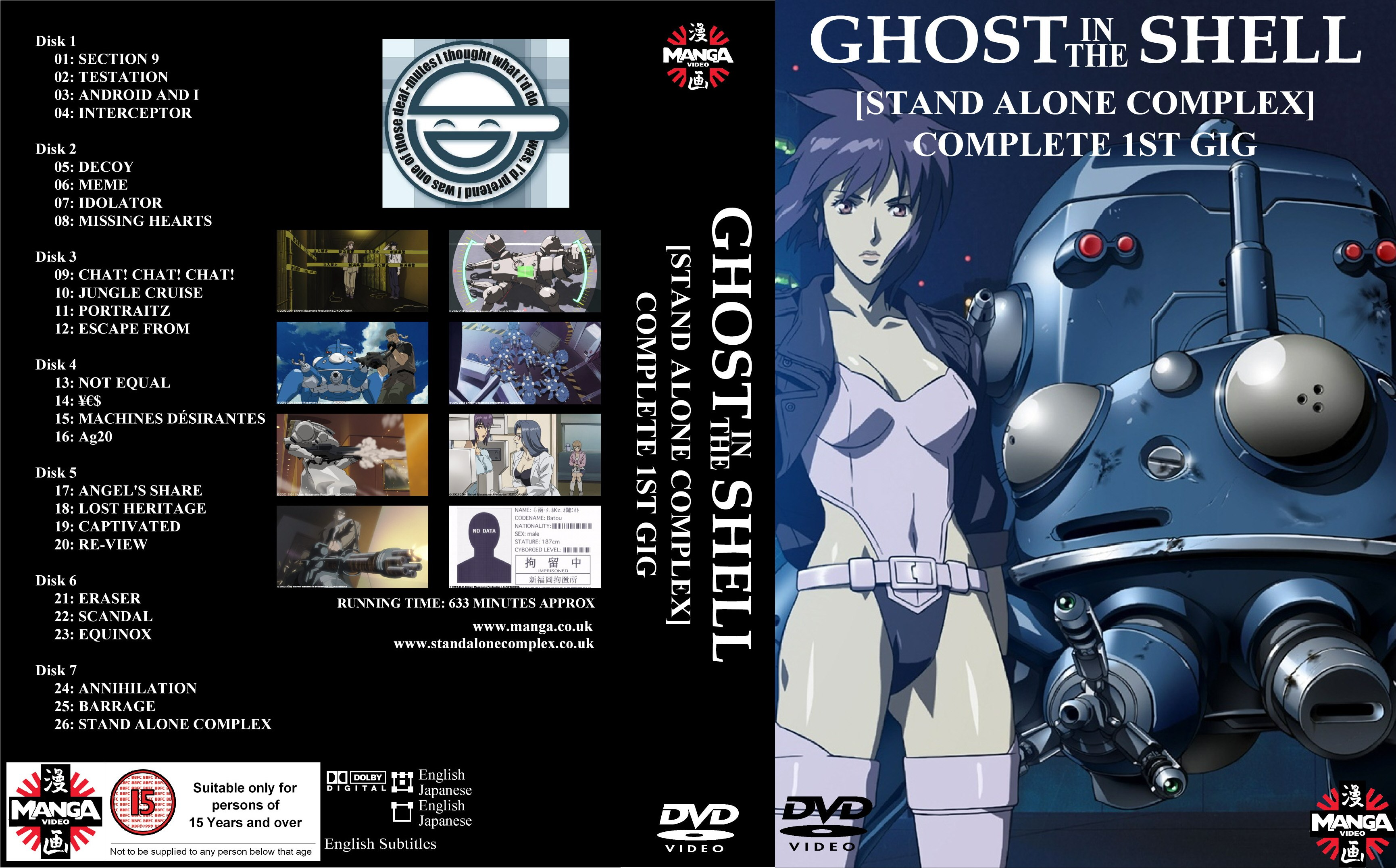 Ghost In The Shell - Stand Alone Complex 1st GIG (2002) DvdRip .mp4 ITA