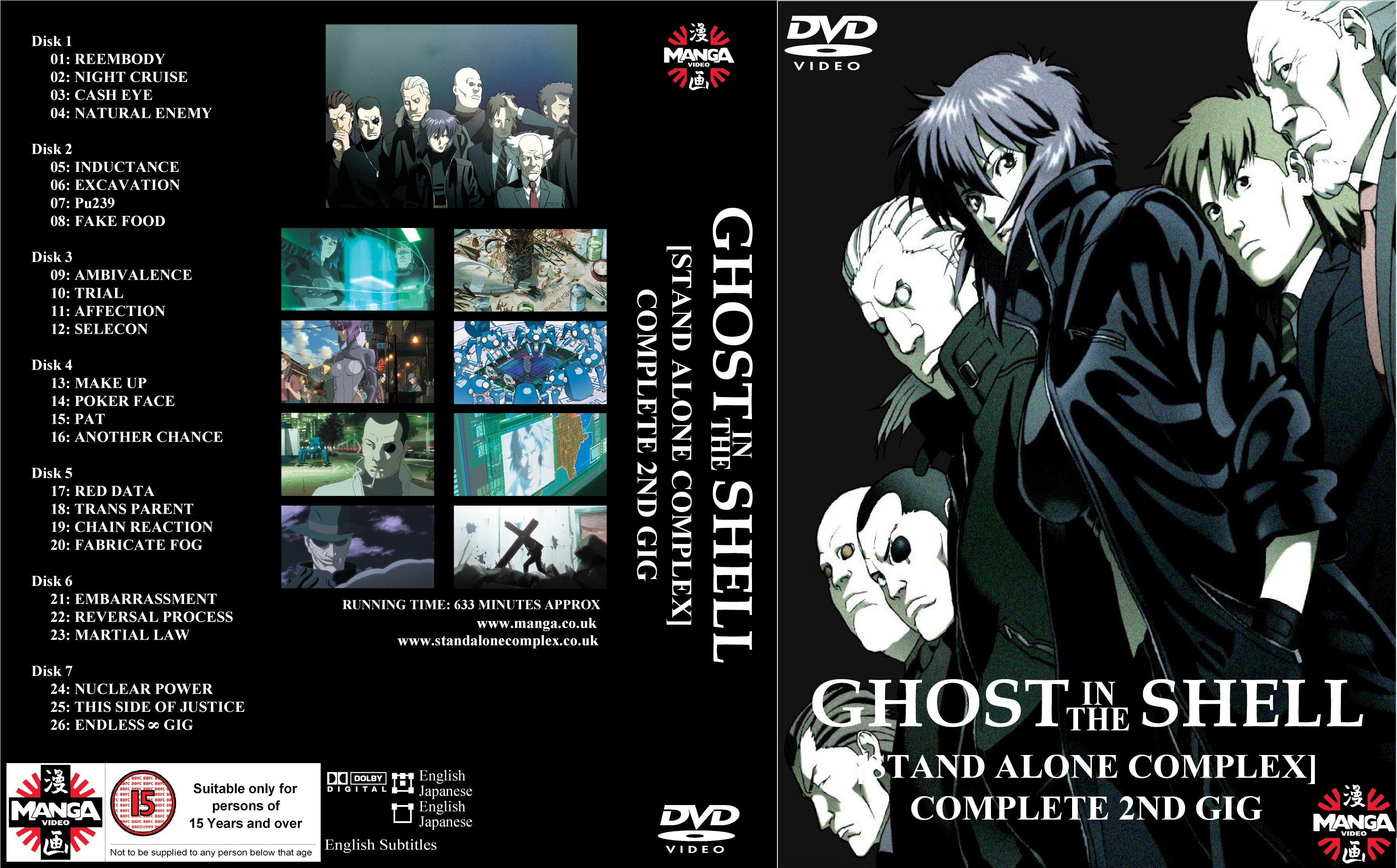 Ghost In The Shell - Stand Alone Complex 2nd GIG (2004) DvdRip .mp4 ITA